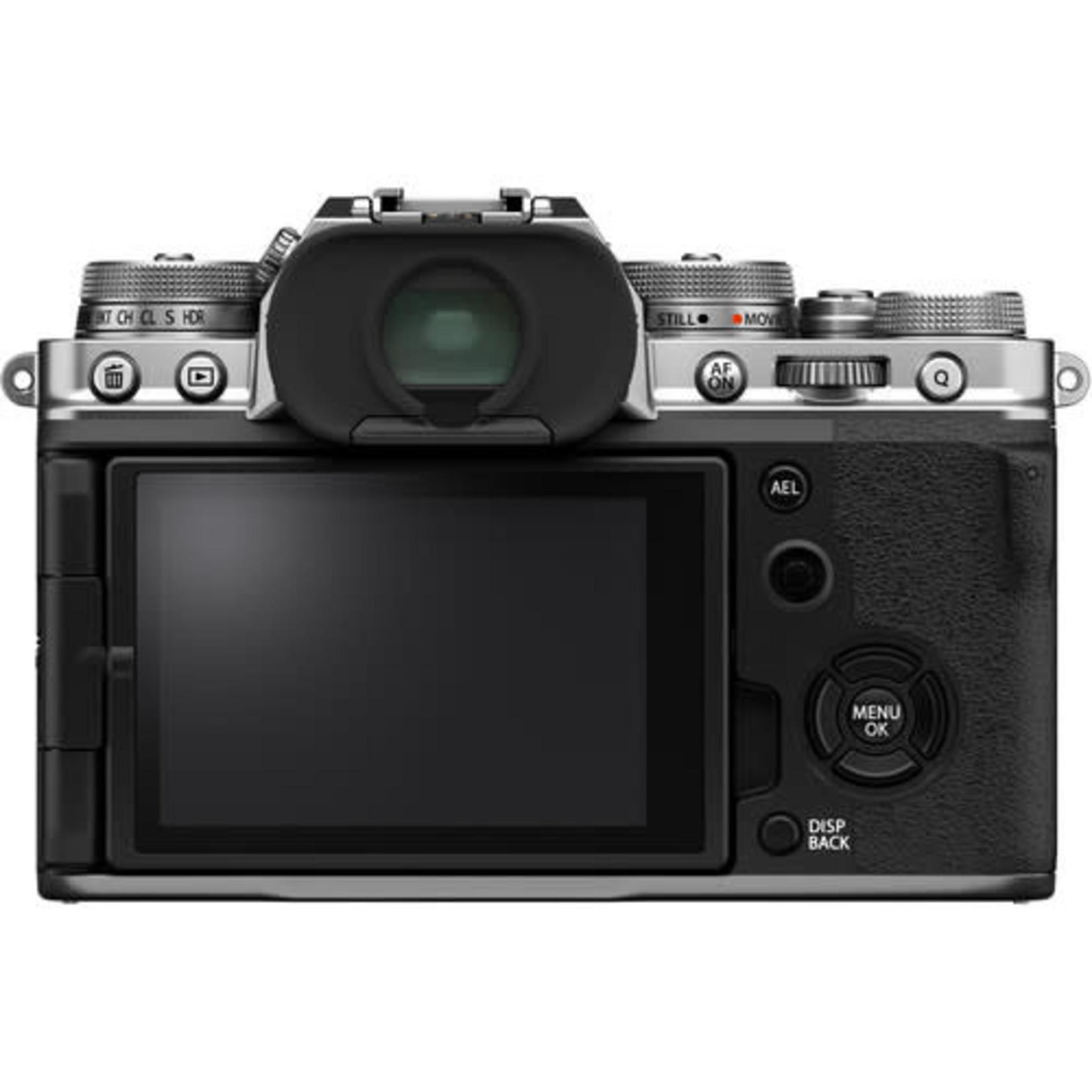 FujiFilm FujiFilm X-T4 Mirrorless Digital Camera (Body Only, Silver)