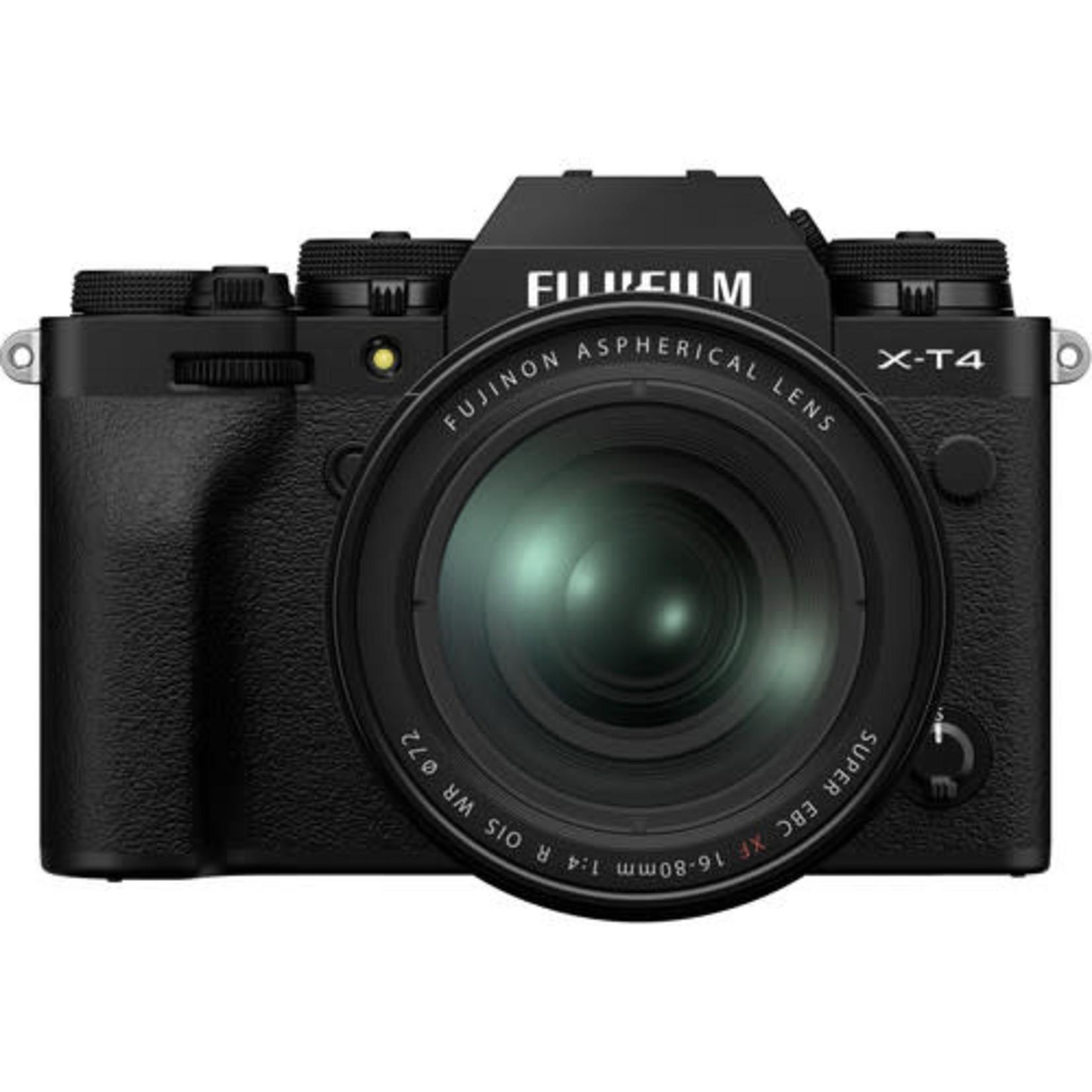 FujiFilm FUJIFILM X-T4 Mirrorless Digital Camera with 16-80mm Lens (Black)