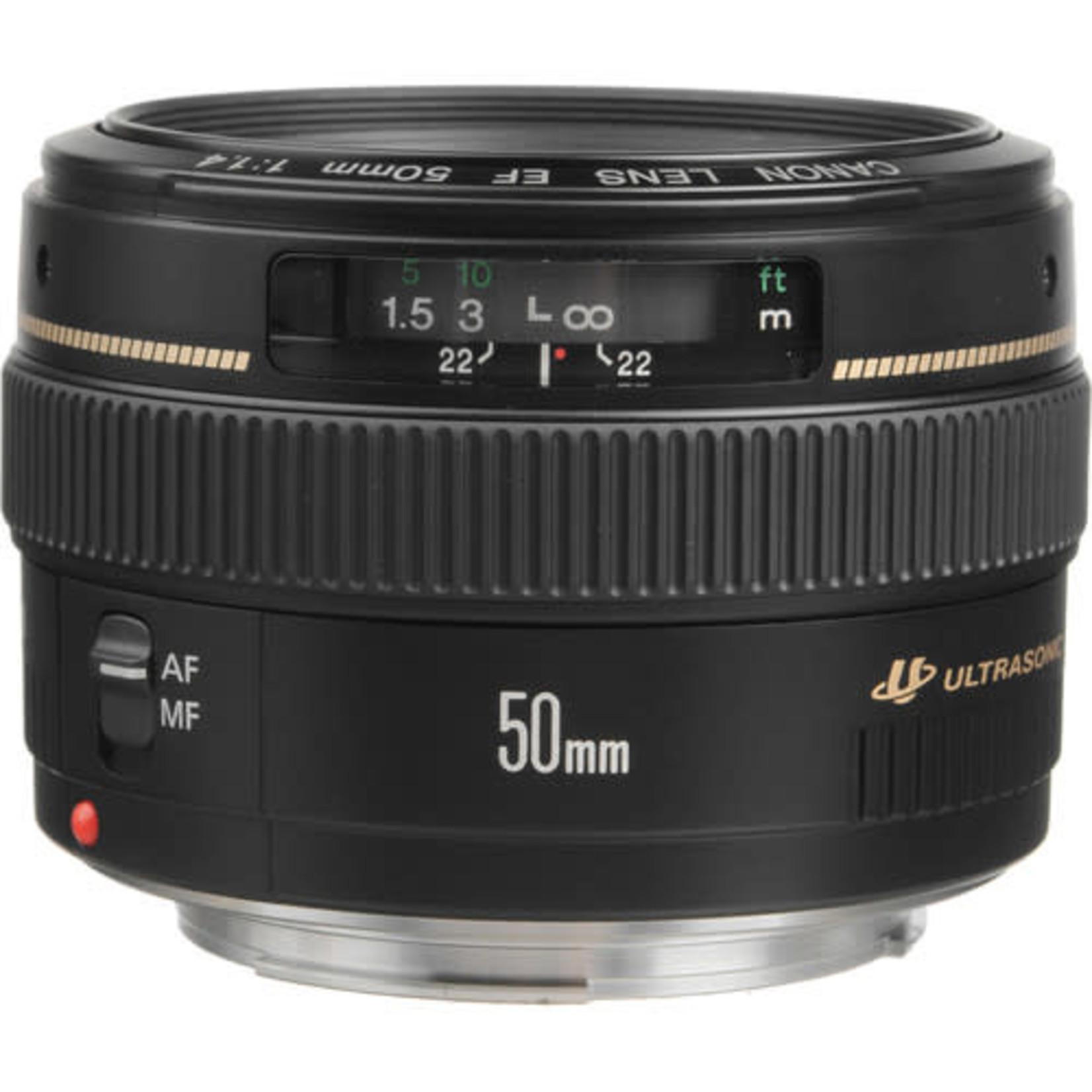 Canon Canon EF 50mm f/1.4 USM Lens