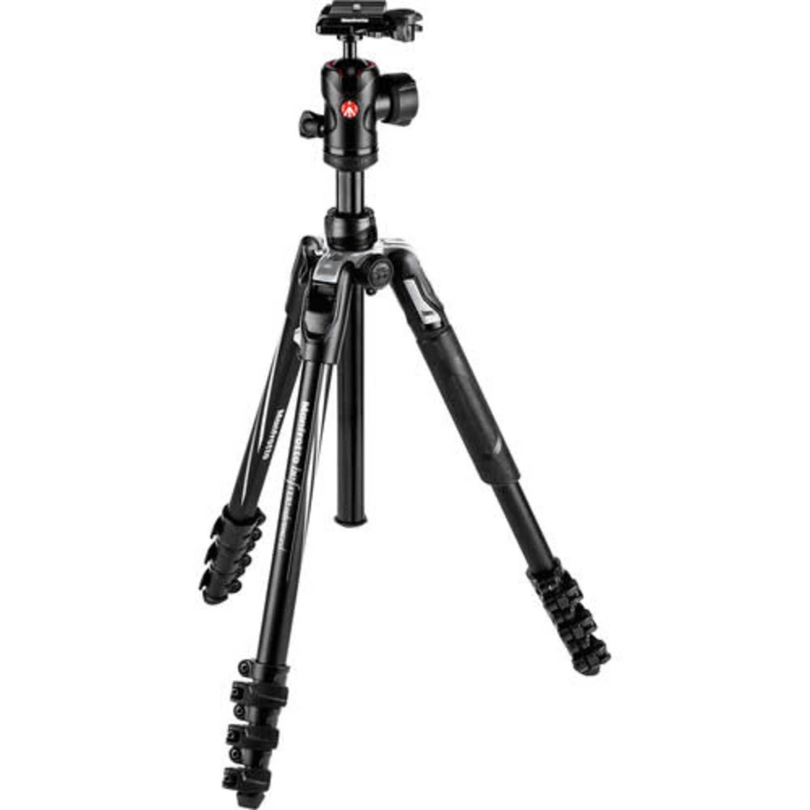 Manfrotto Manfrotto Befree Advanced Travel Aluminum Tripod with 494 Ball Head (Lever Locks, Black)
