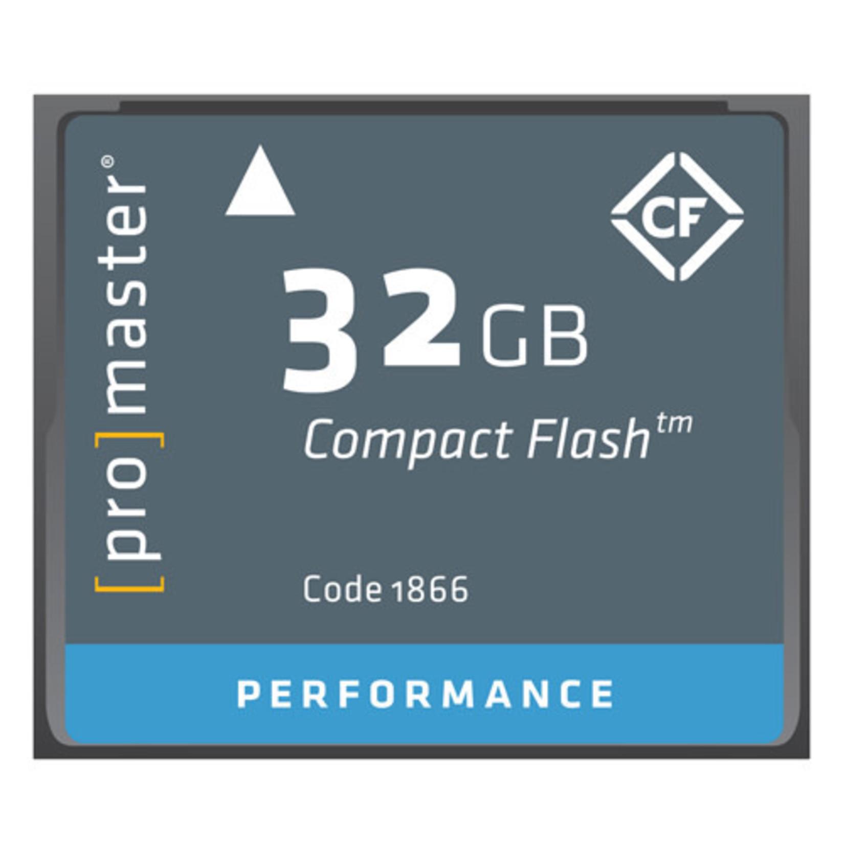 ProMaster Compact Flash 32GB 500x Performance