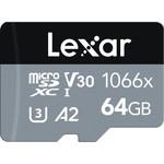 Lexar Lexar 64 Micro SD 1066X