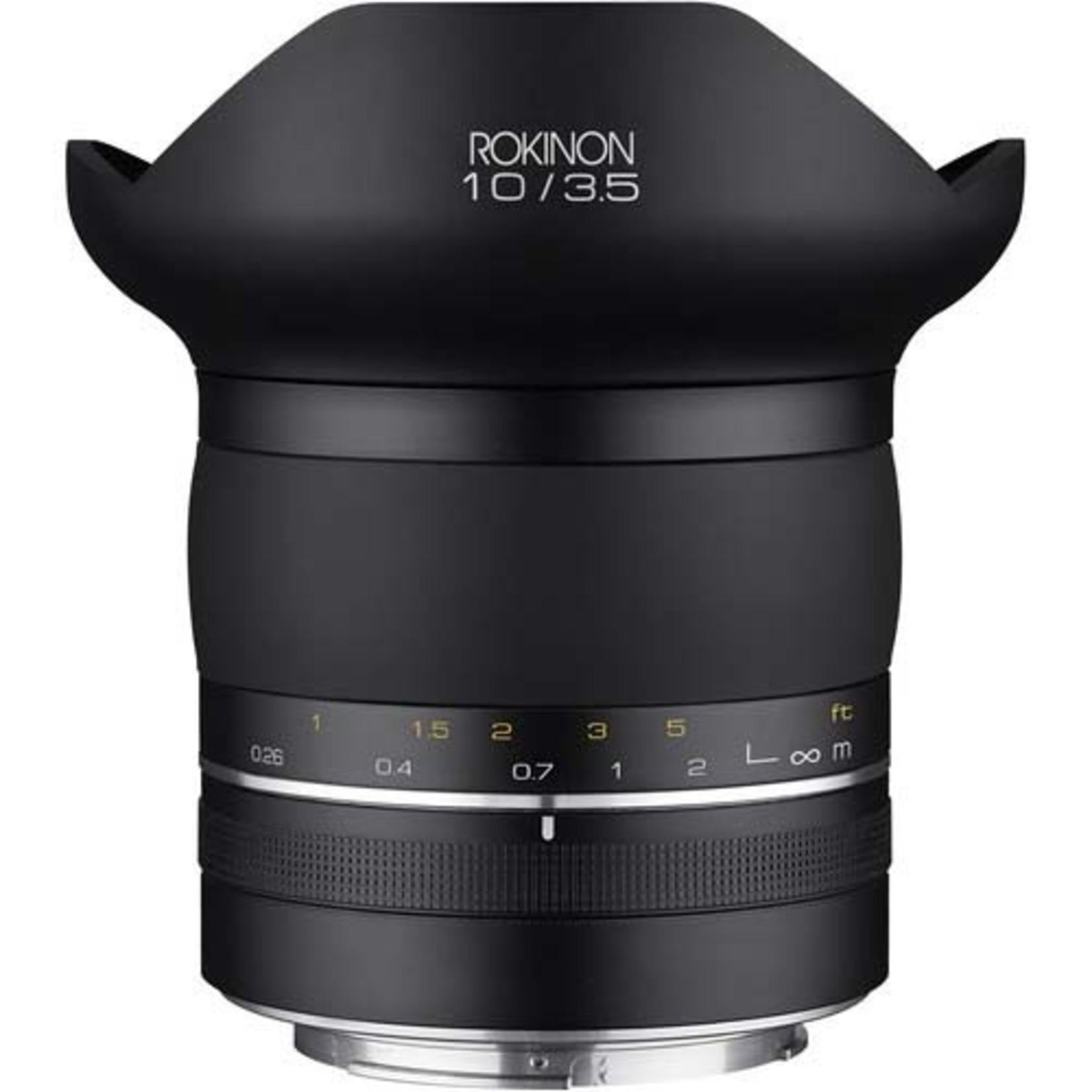 Rokinon ROKINON SP 10mm f/3.5 - SP10M-C for Canon