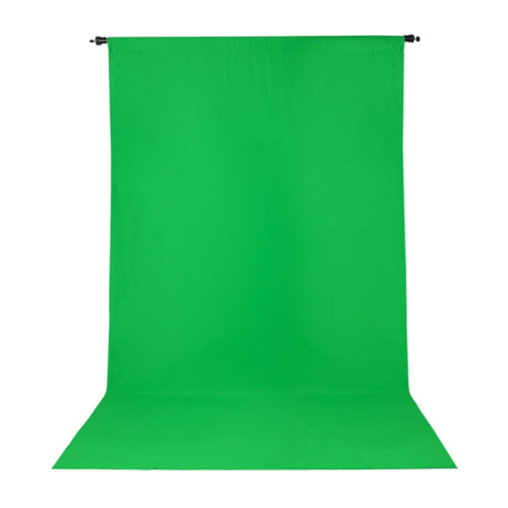 ProMaster Wrinkle Resistant Backdrop 5'x9' - Chroma-key Green