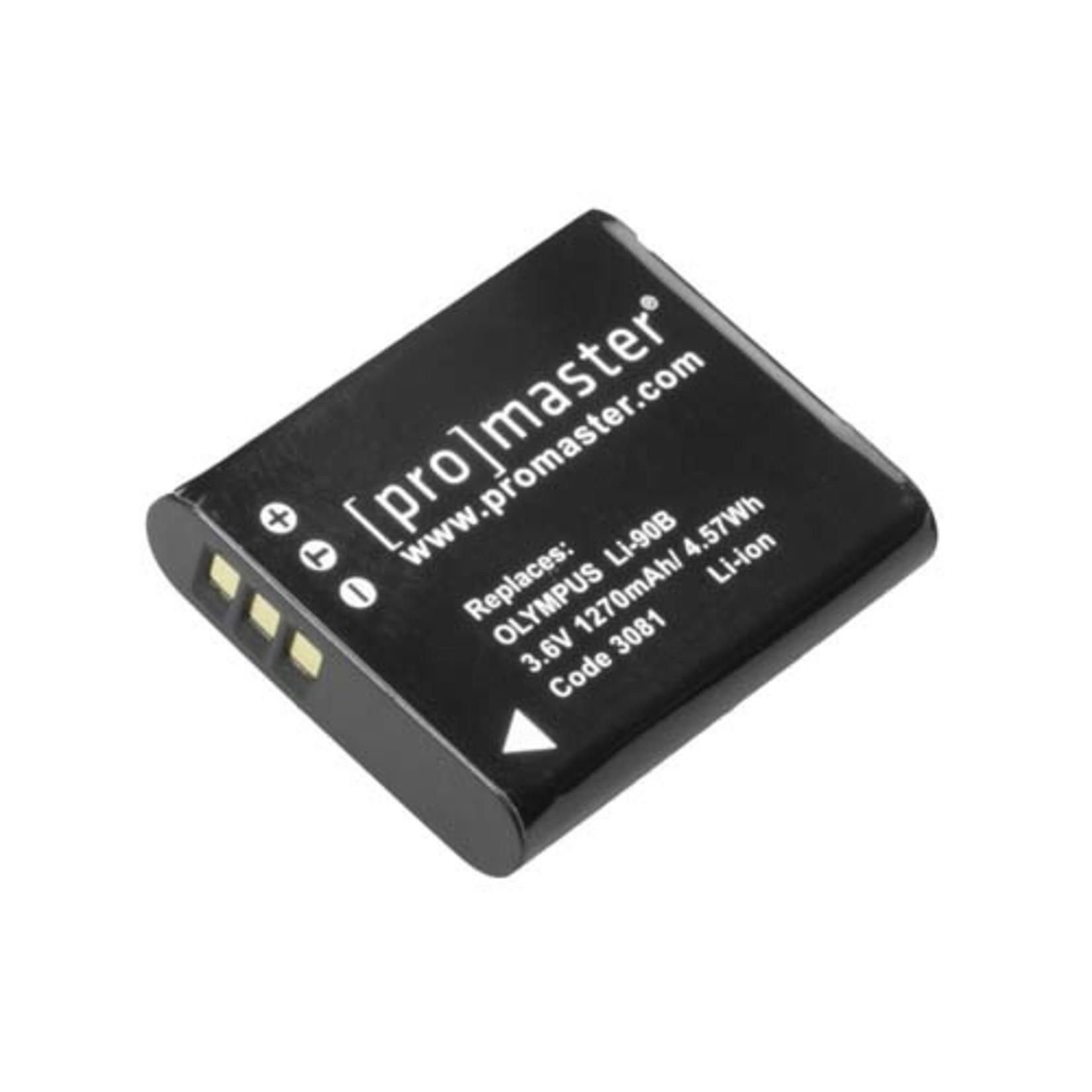 ProMaster Li-ion Battery for Olympus LI-90B LI-92B