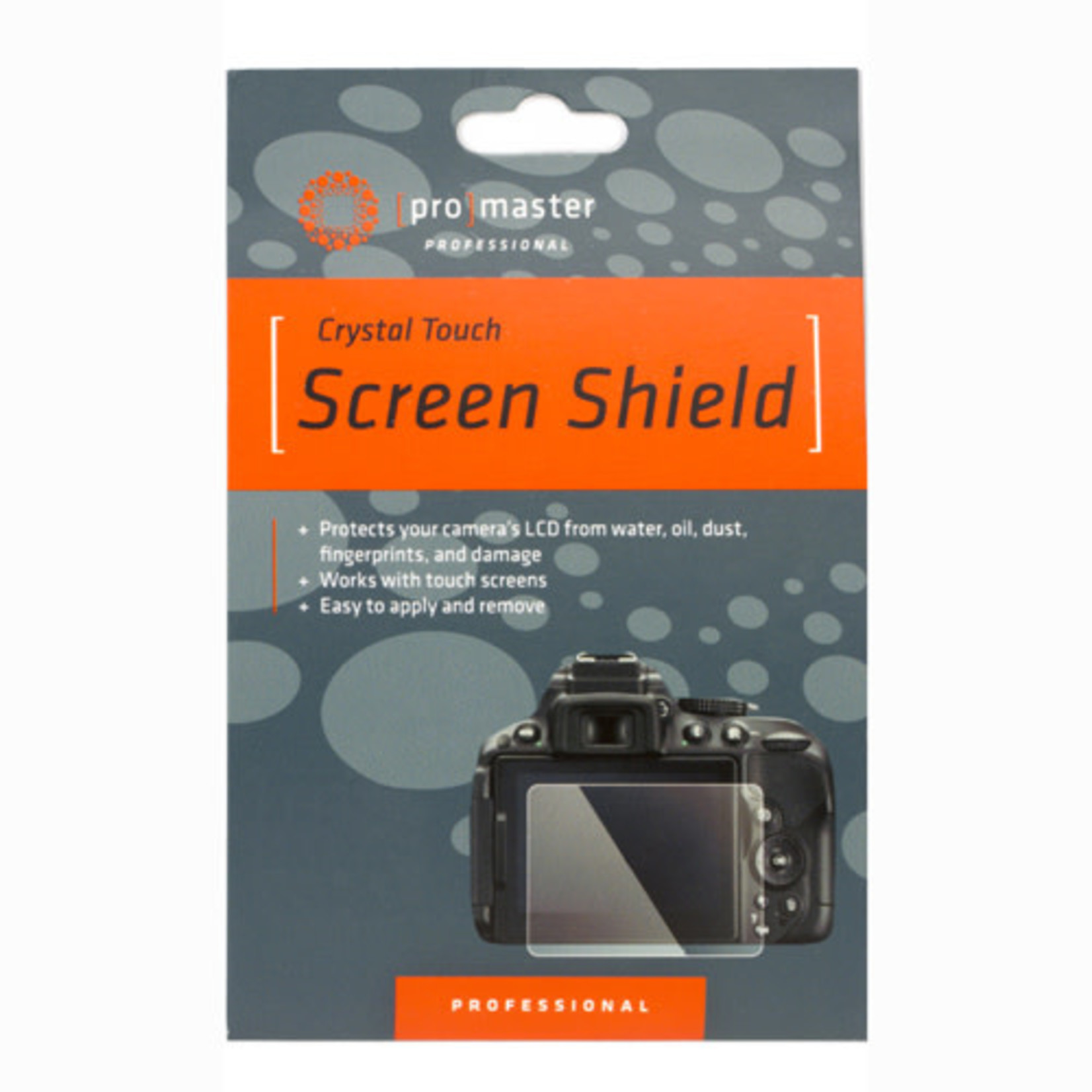 ProMaster Crystal Touch Screen Shield - Nikon Z7, Z6 and Panasonic DC-S1, DC-S1R, DC-S1H
