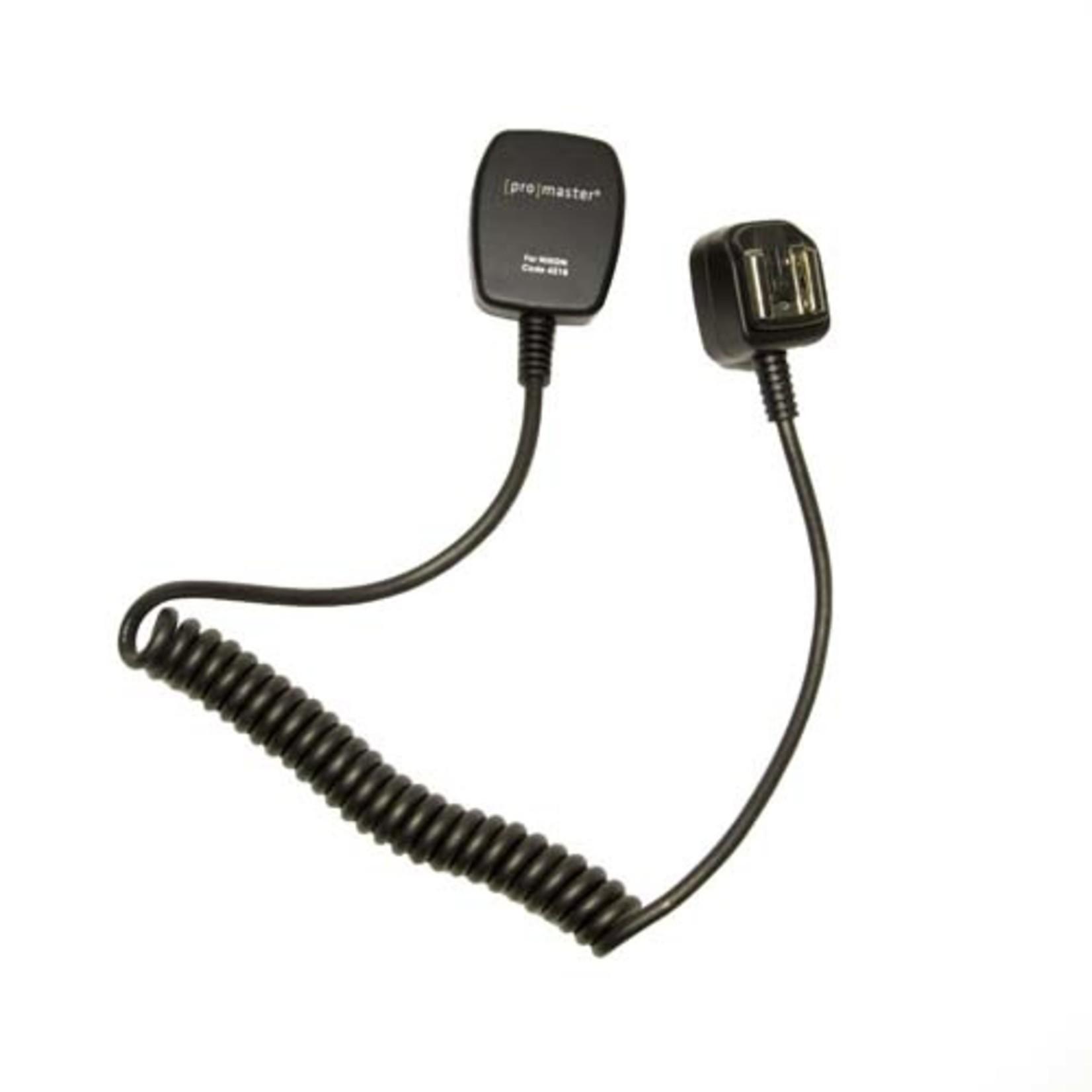 ProMaster TTL Off Camera Flash Cord - Nikon