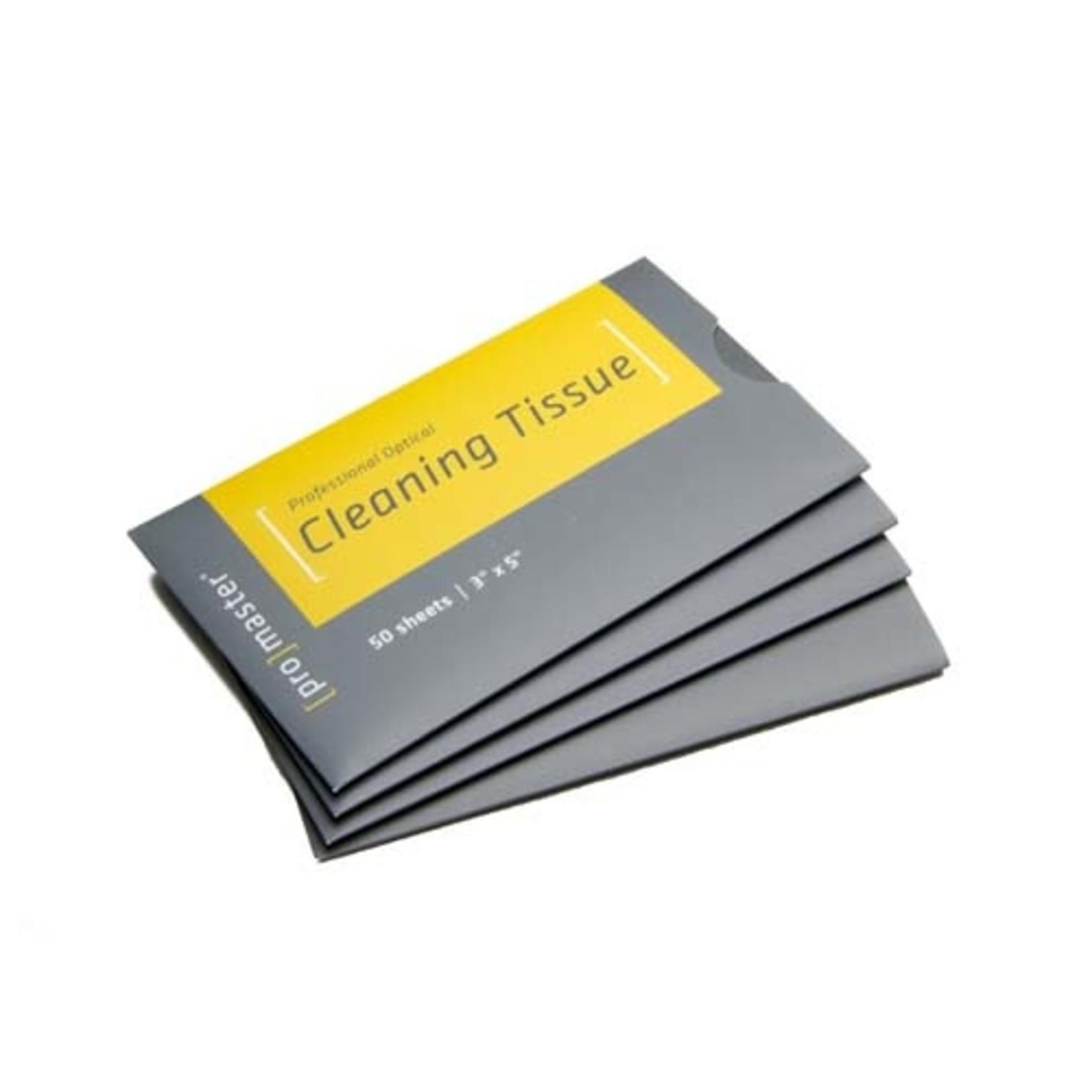 ProMaster OpticClean Lens Tissue 50 Sheet Booklet