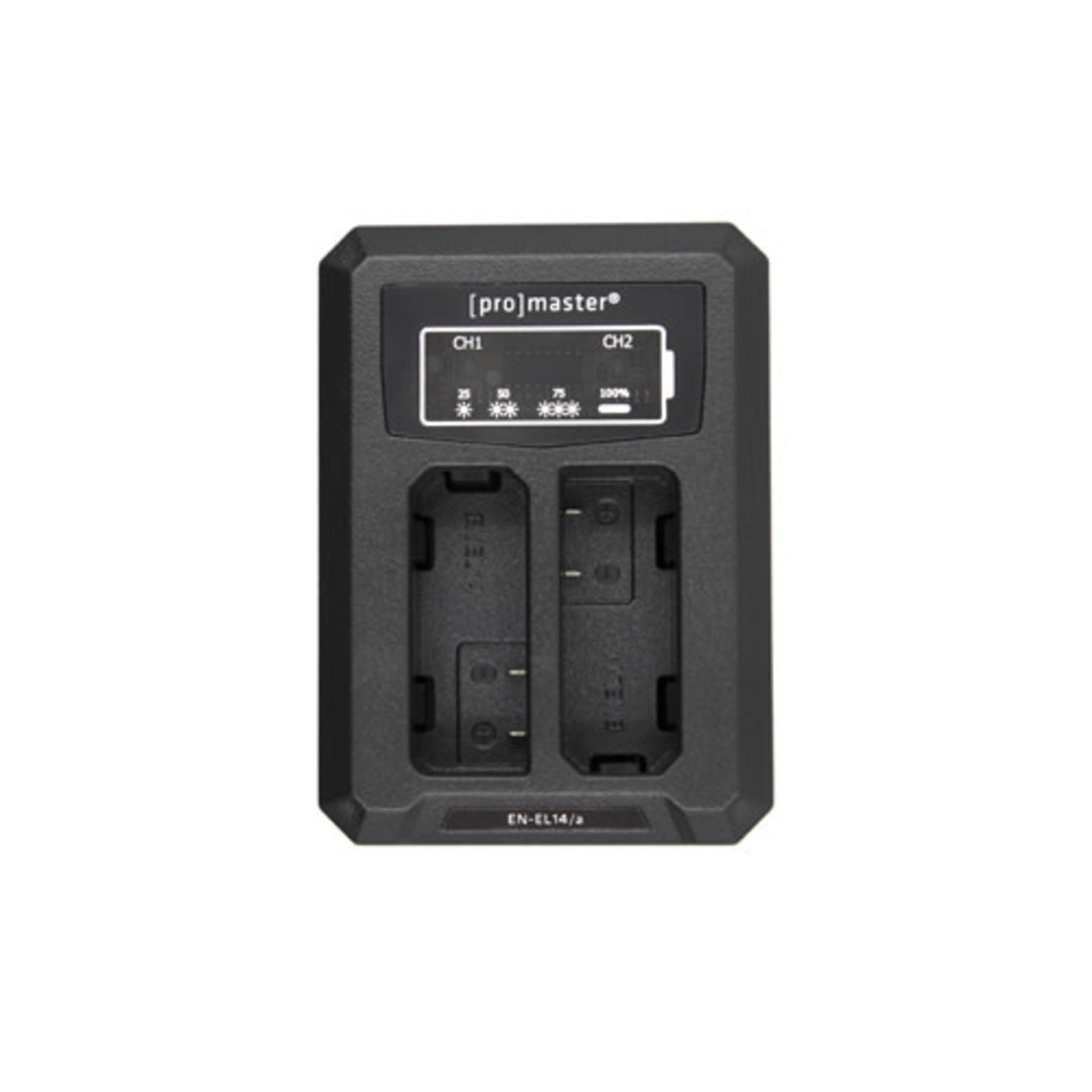 ProMaster Dually Charger - USB for Nikon EN-EL14