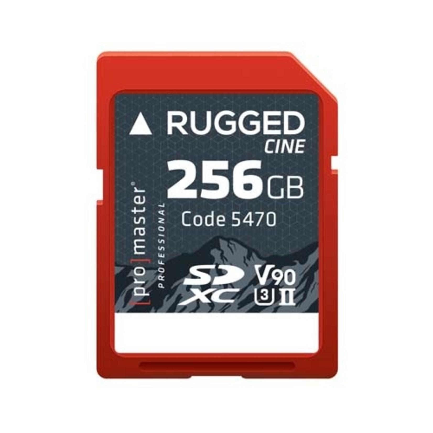 ProMaster SDXC 256GB Rugged CINE UHS-II