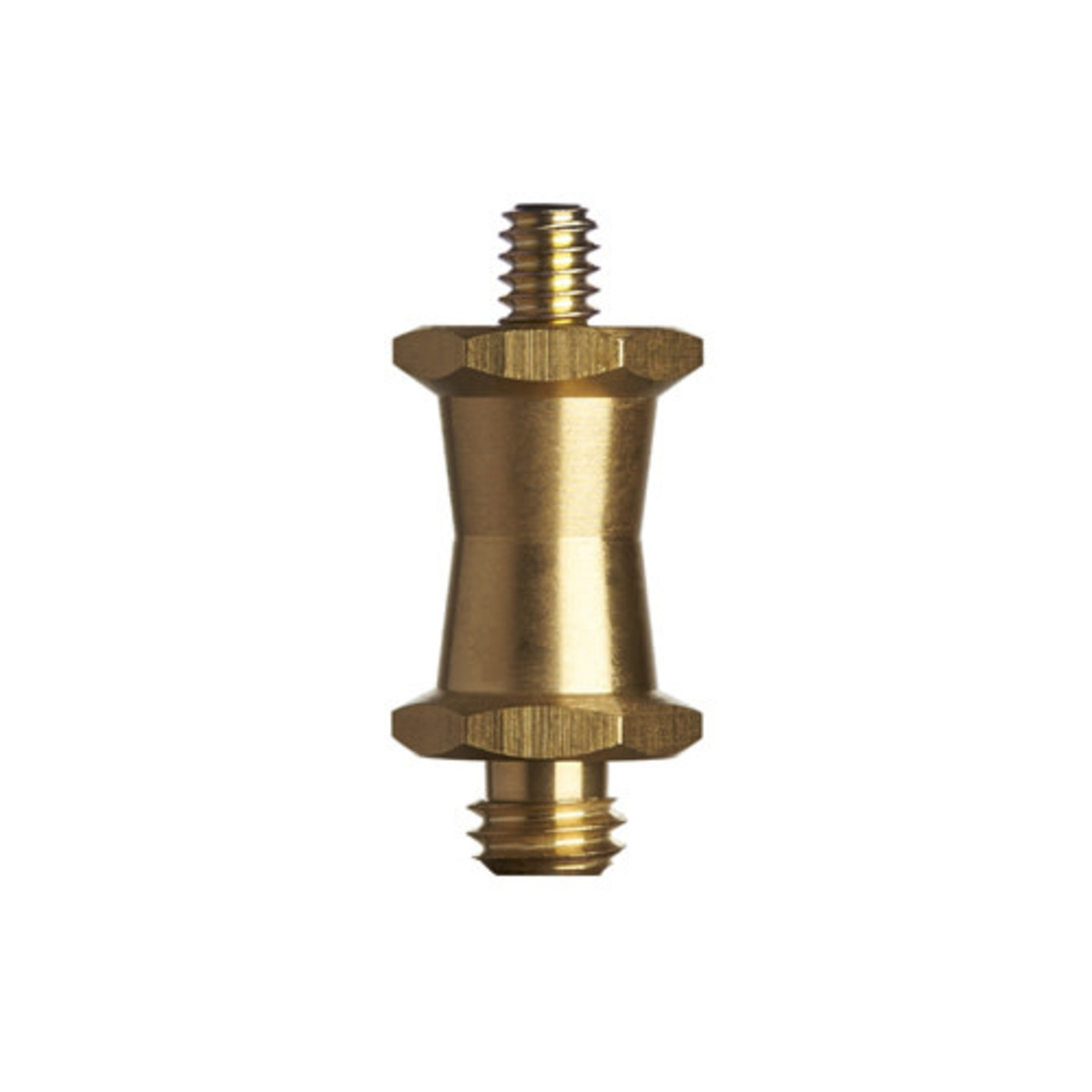 ProMaster Short Brass Stud 1/4-20 male to 3/8 male