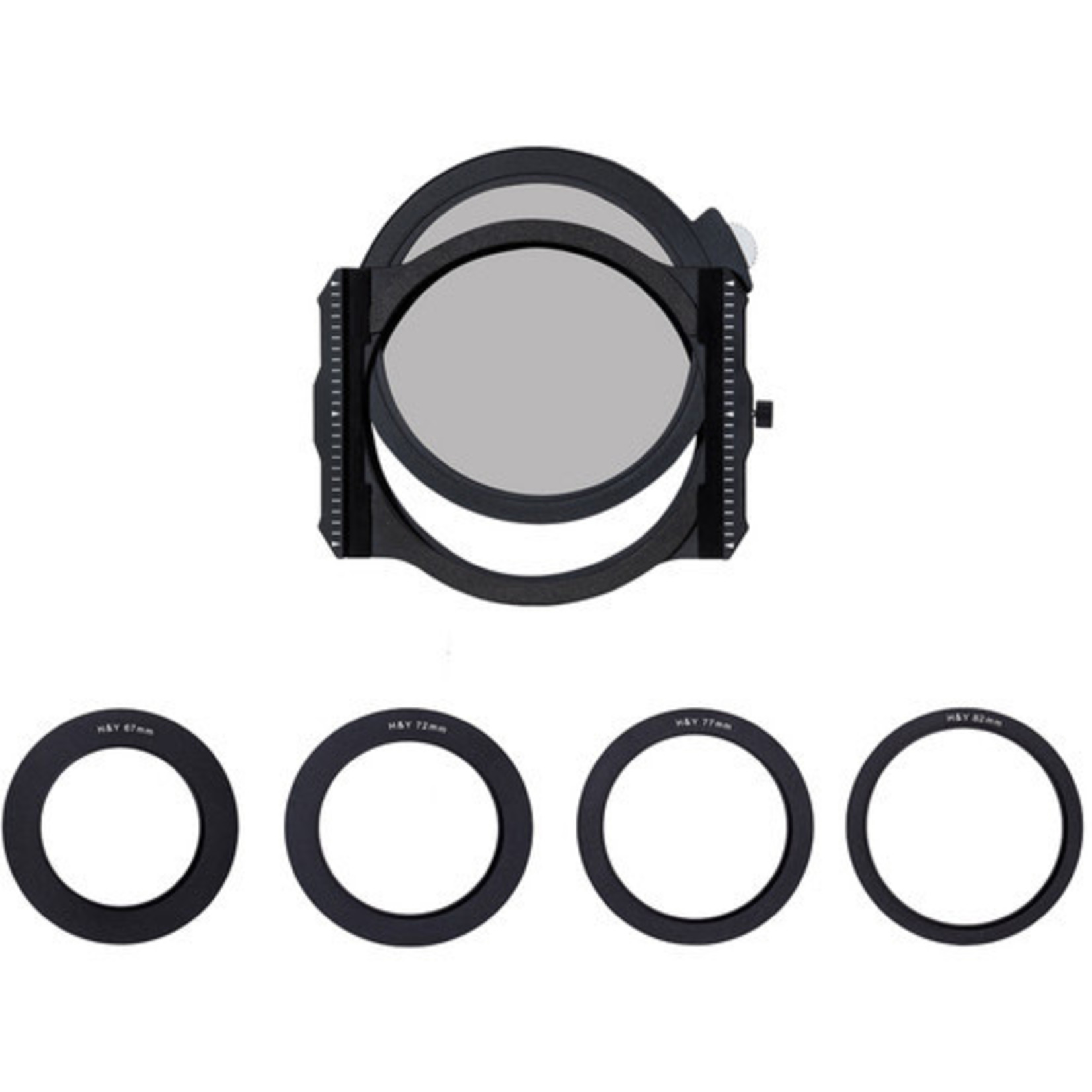 H&Y Square Filter Holder with Circular Polarizer and adapter rings