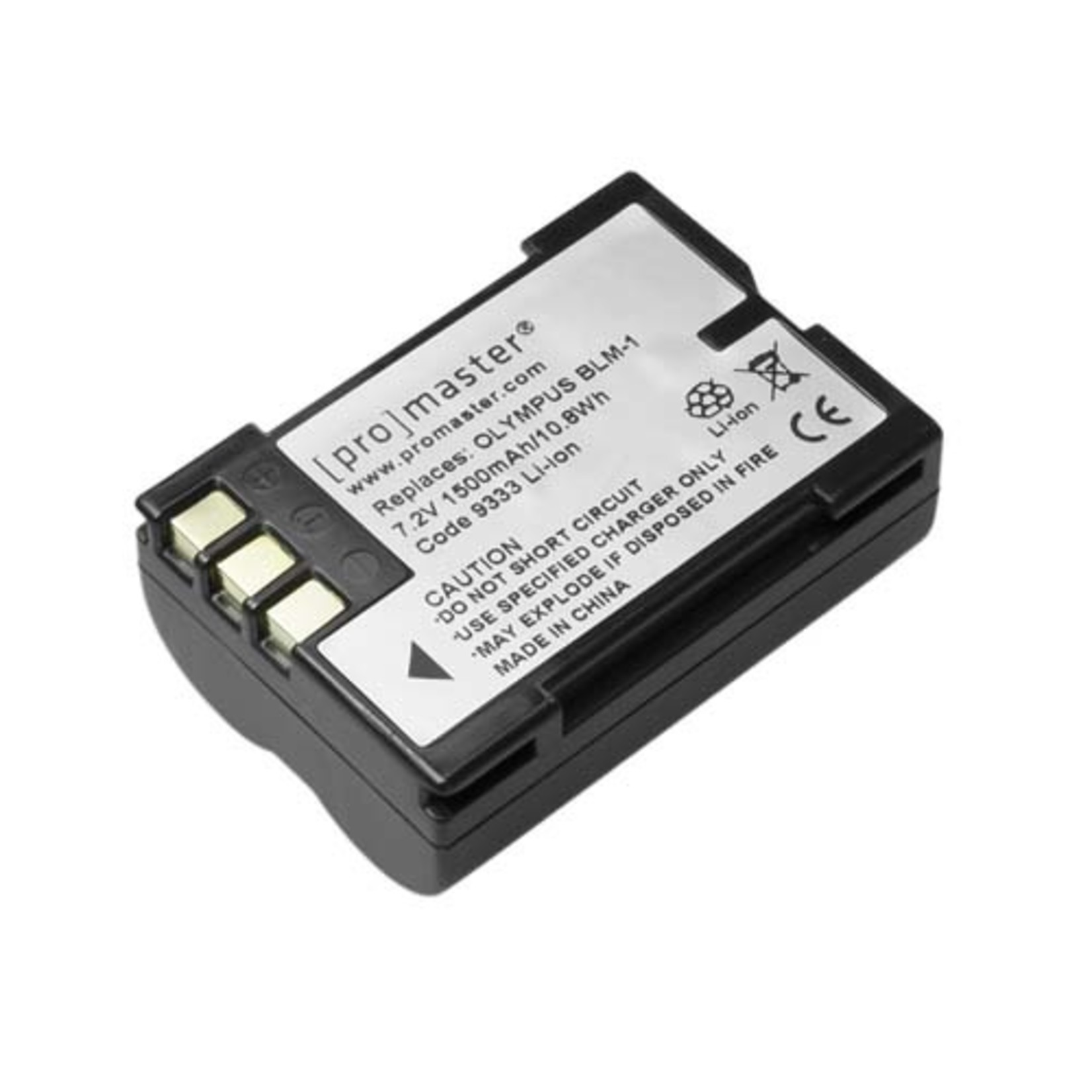 ProMaster Li-ion Battery for Olympus BLM-1