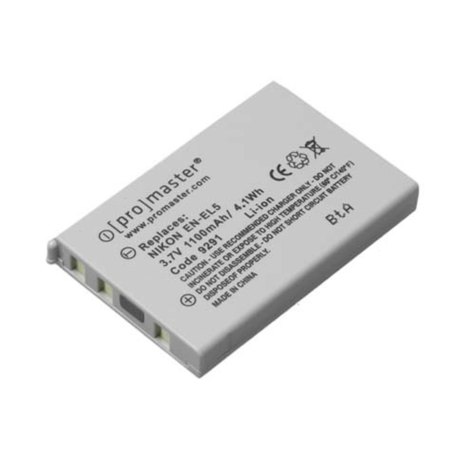 ProMaster Li-ion Battery for Nikon EN-EL5
