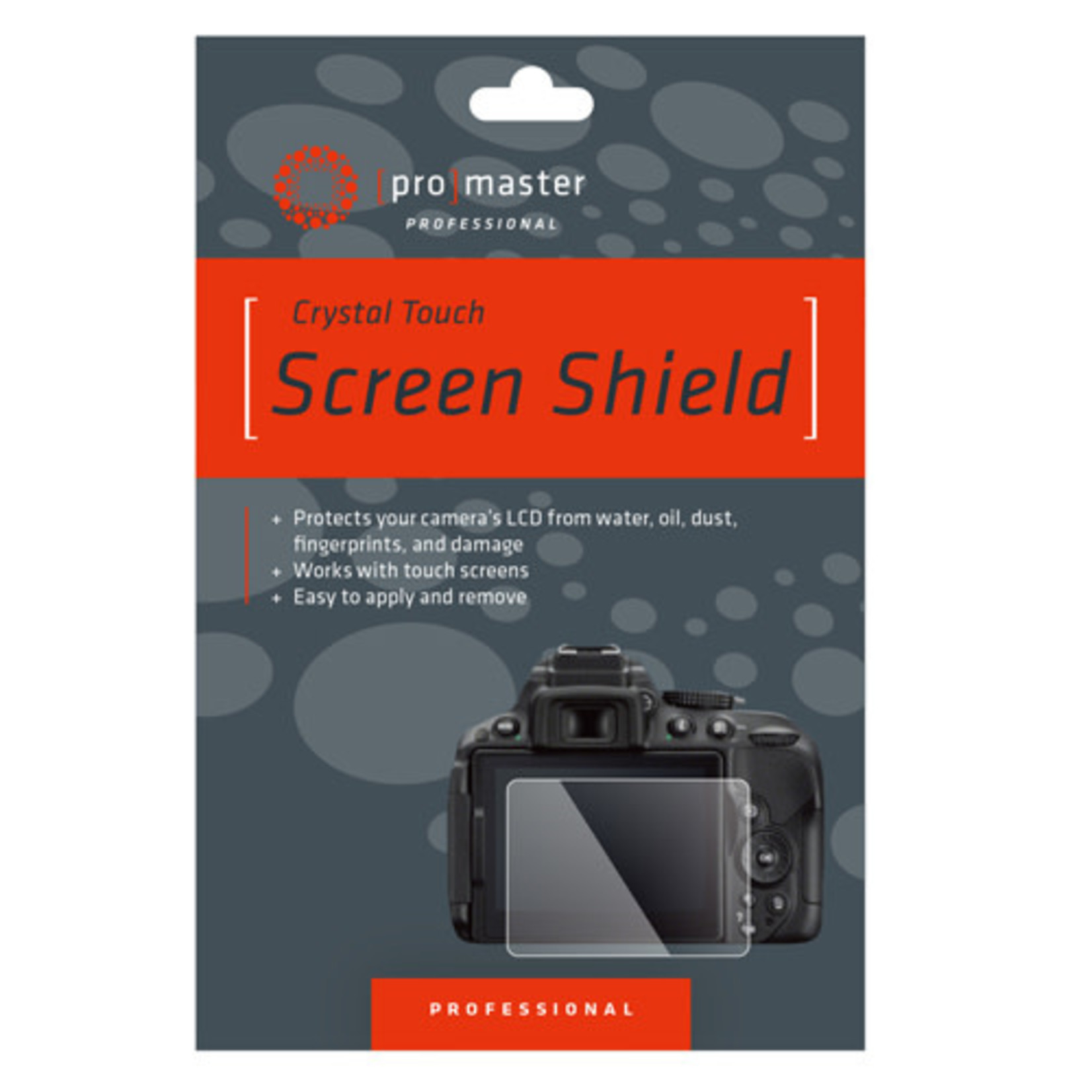 ProMaster Crystal Touch Screen Shield - Nikon D500