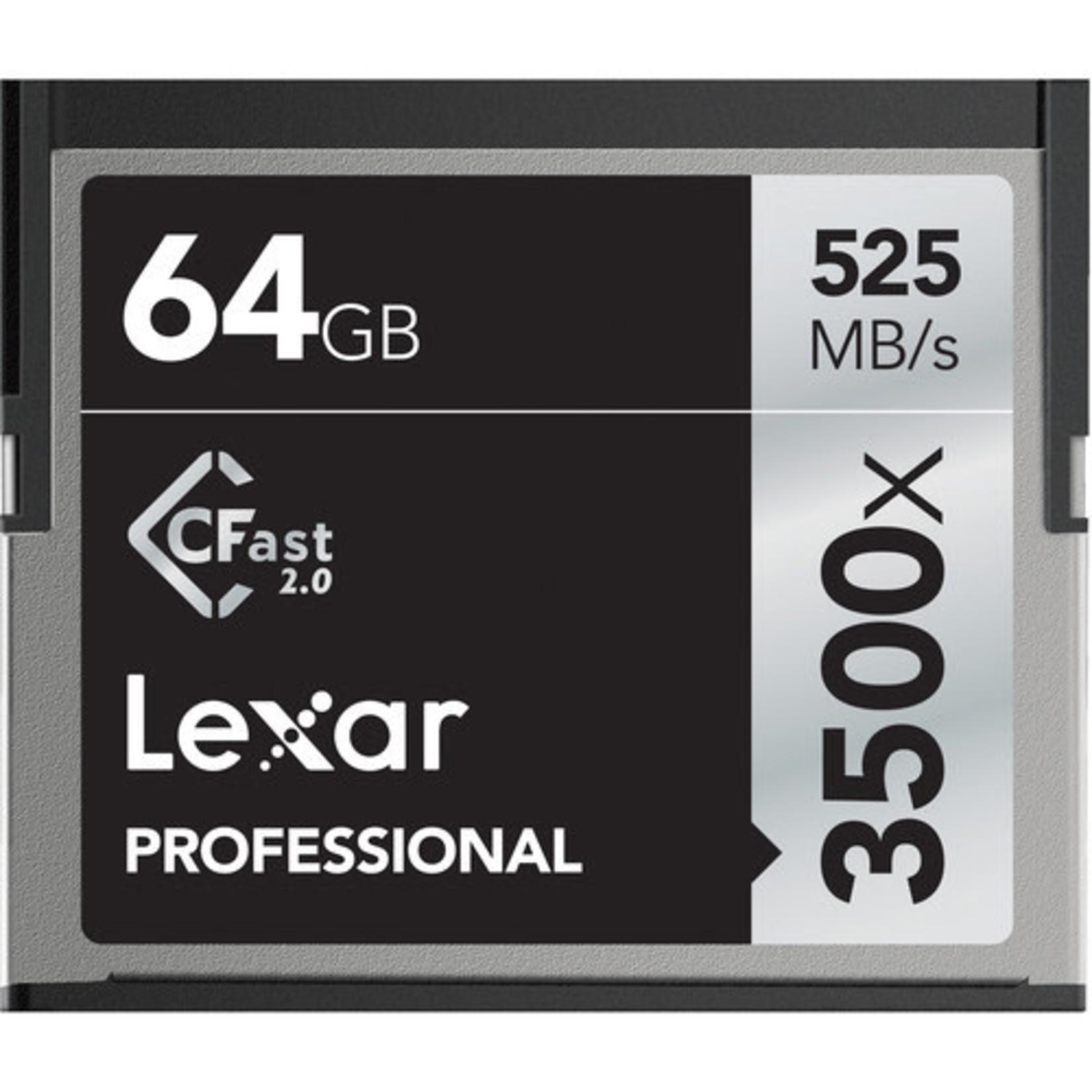Lexar Lexar 3500x CFast 64GB Memory Card
