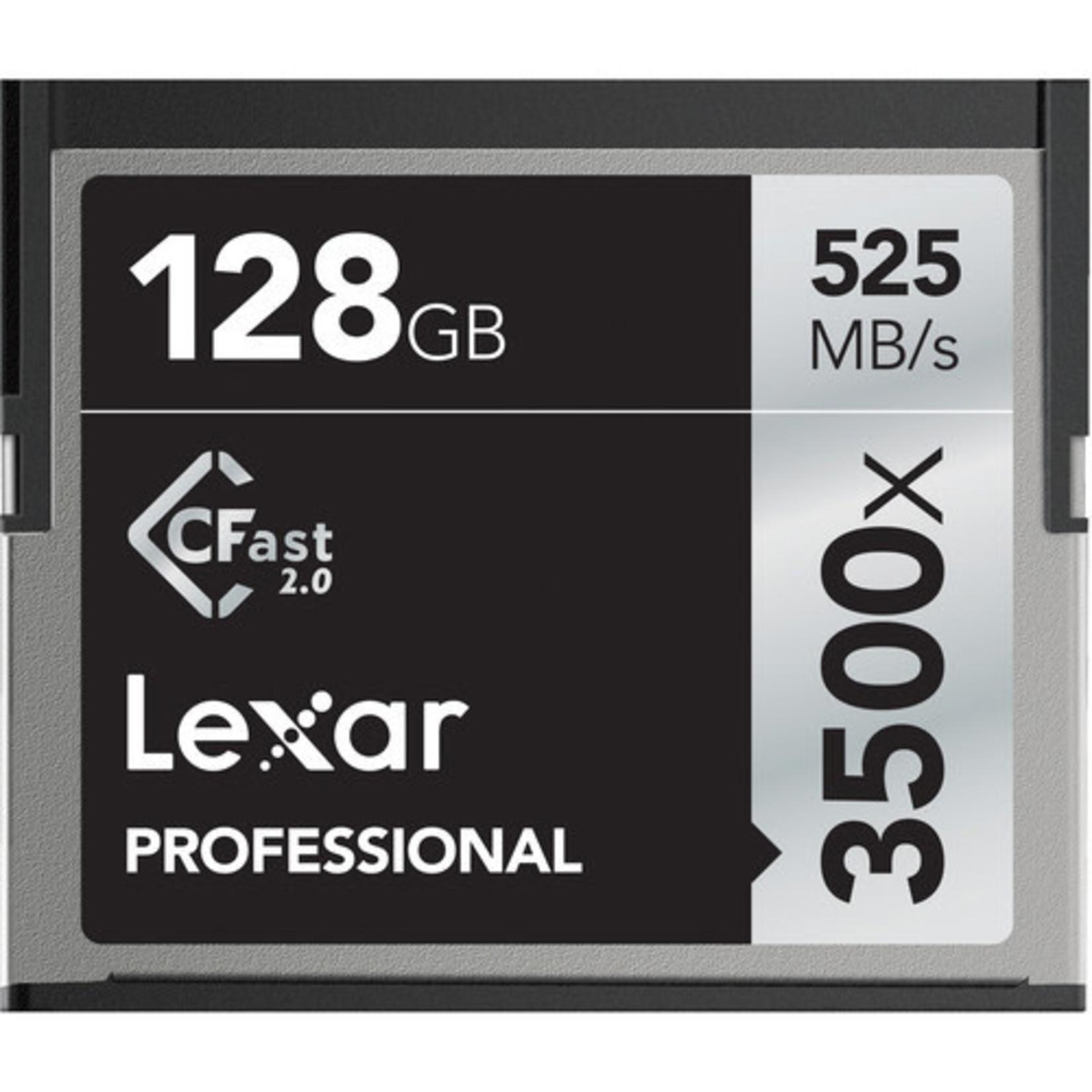 Lexar Lexar 3500x CFast 128GB Memory Card