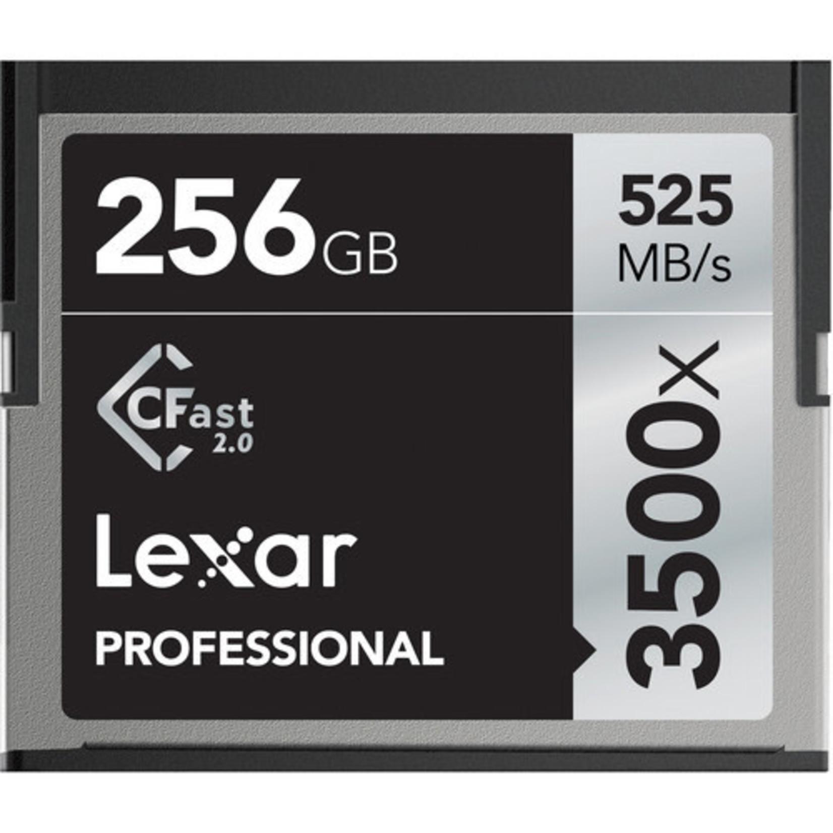 Lexar Lexar 3500x CFast 256GB Memory Card