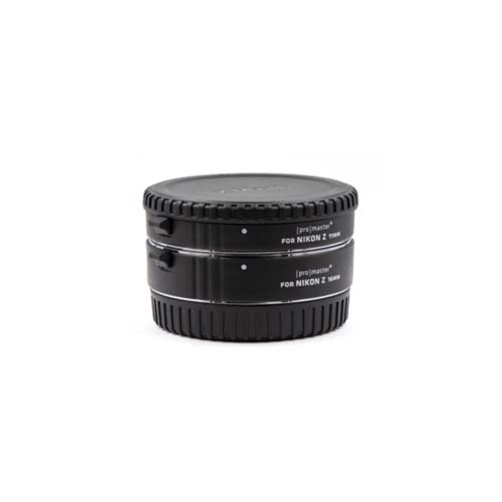 ProMaster Macro Extension Tube Set for Nikon Z