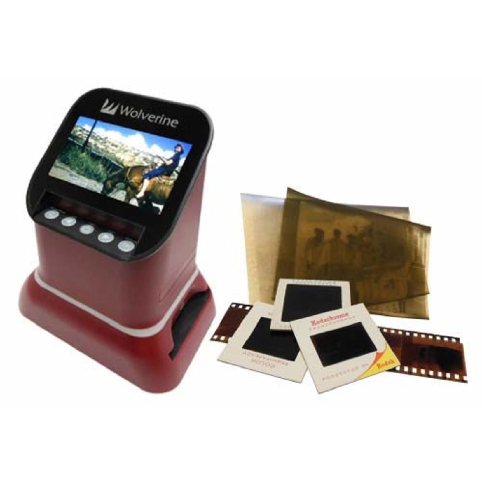 Wolverine Saturn F2D 120 /127 /35mm scanner - RED