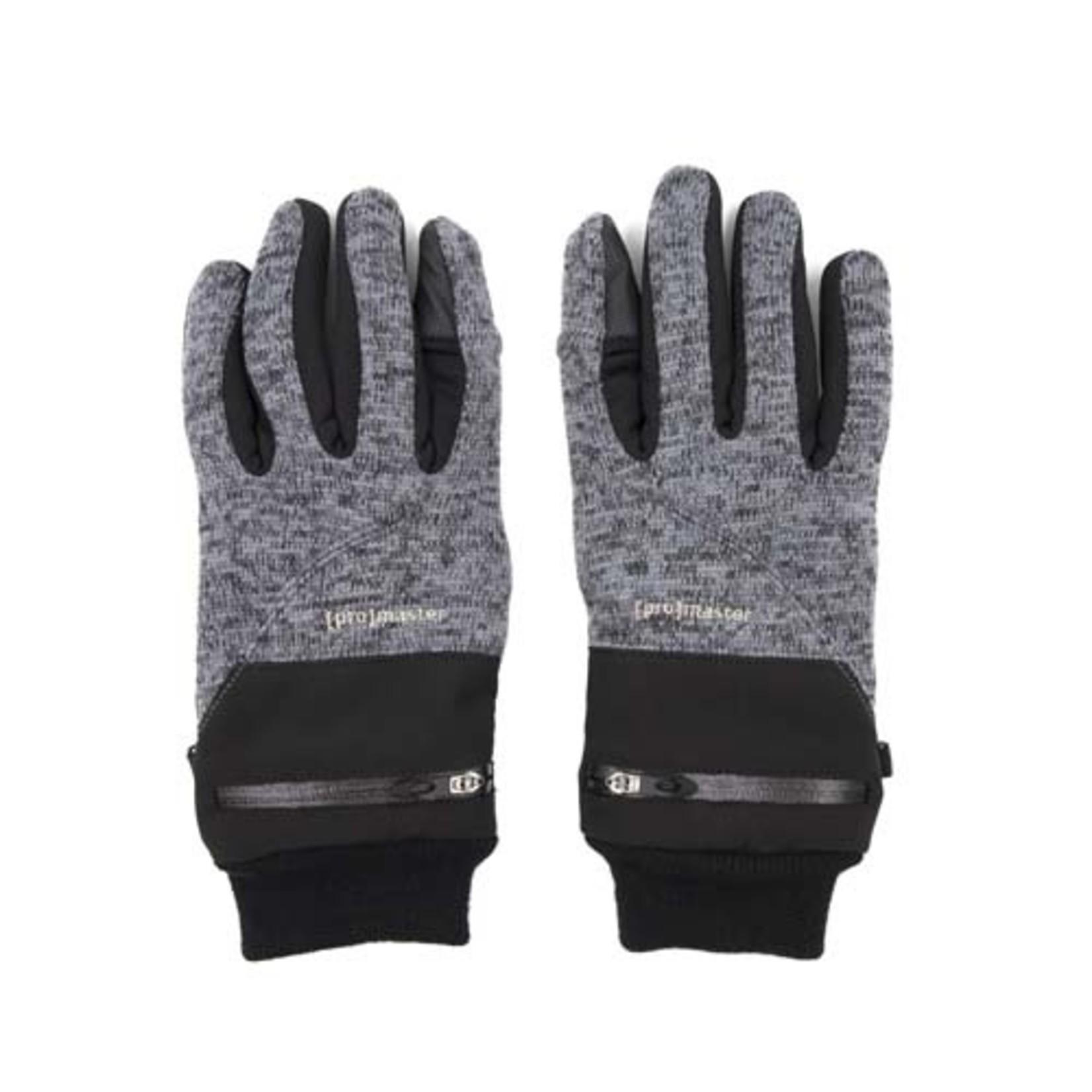 ProMaster Knit Photo Gloves - Medium v2