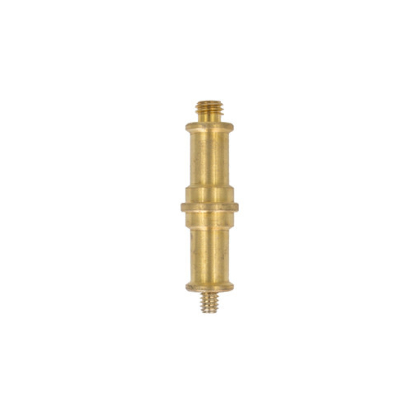 ProMaster Double Spigot 1/4-20 male to 3/8 male - Brass