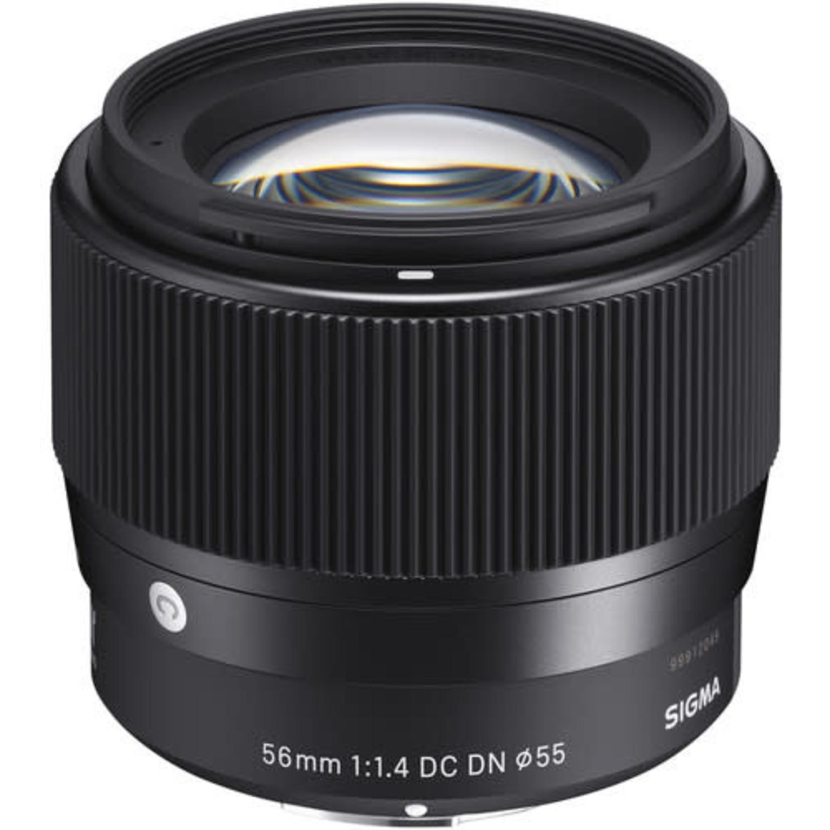 Sigma Sigma 56mm f/1.4 DC DN Contemporary Lens for Sony E