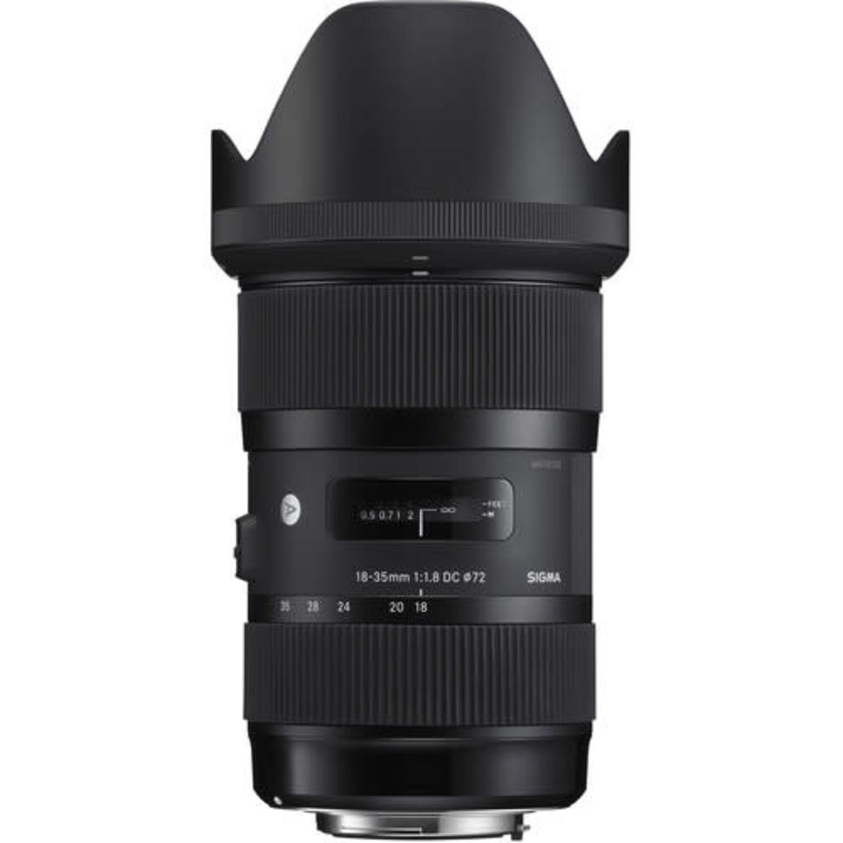 Sigma Sigma 18-35mm f/1.8 DC HSM Art Lens for Nikon F