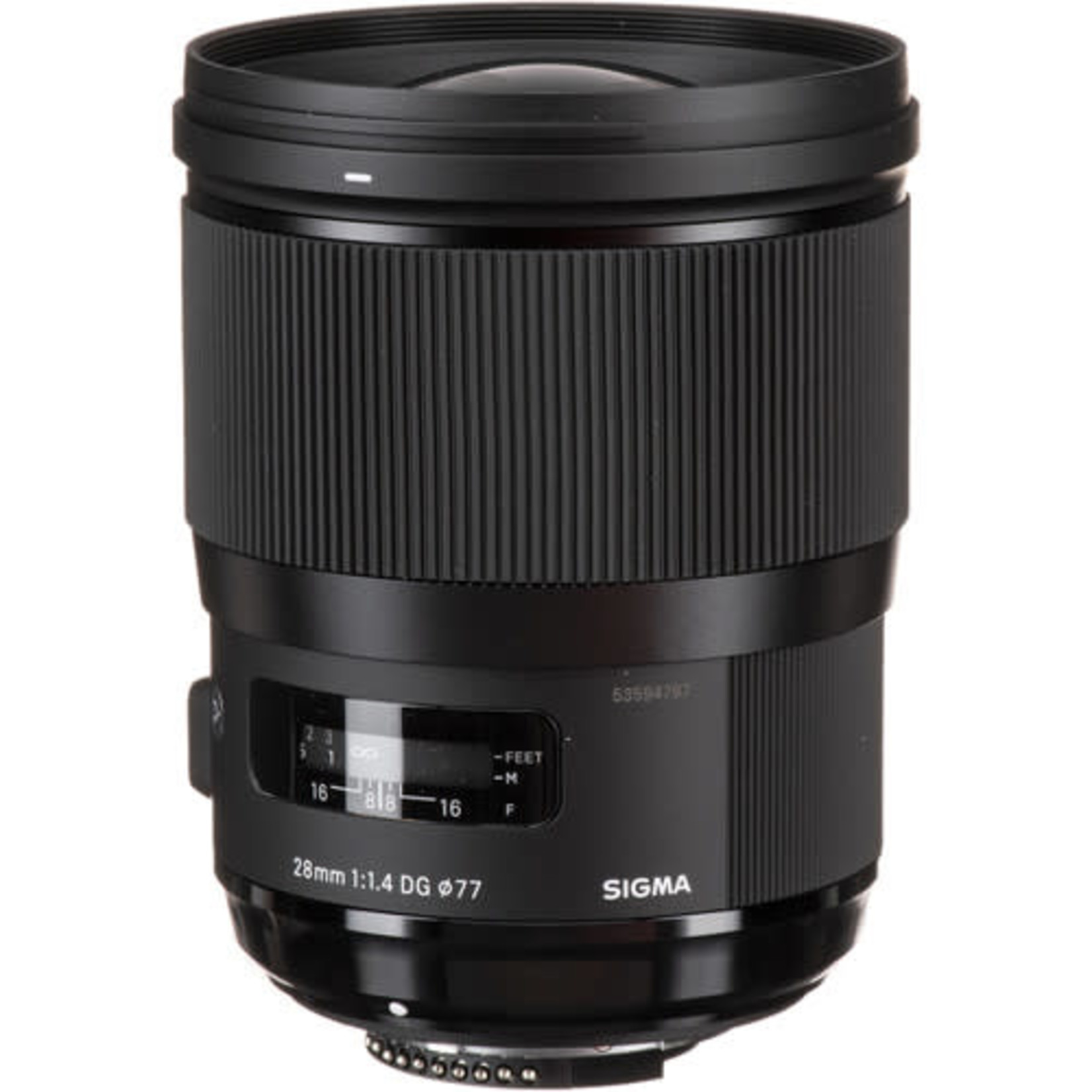 Sigma Sigma 28mm f/1.4 DG HSM Art Lens for Nikon F