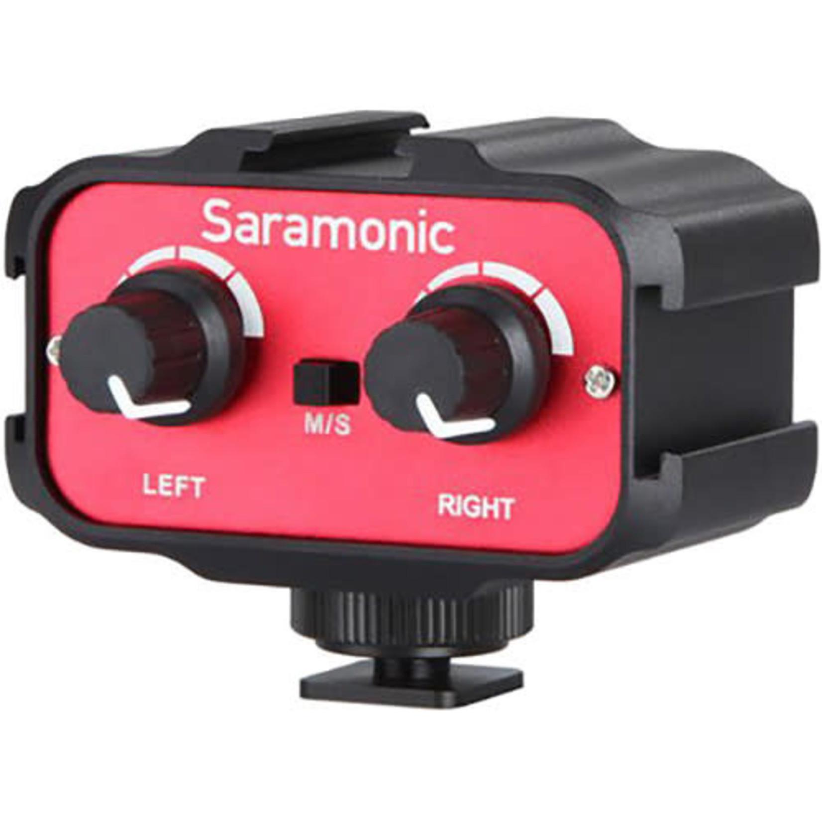 Saramonic Saramonic SR-AX100 Passive 2-Channel Audio Adapter for DSLR Cameras