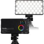 Phottix Phottix M200R RGB LED On-Camera Light Panel with USB Power Bank