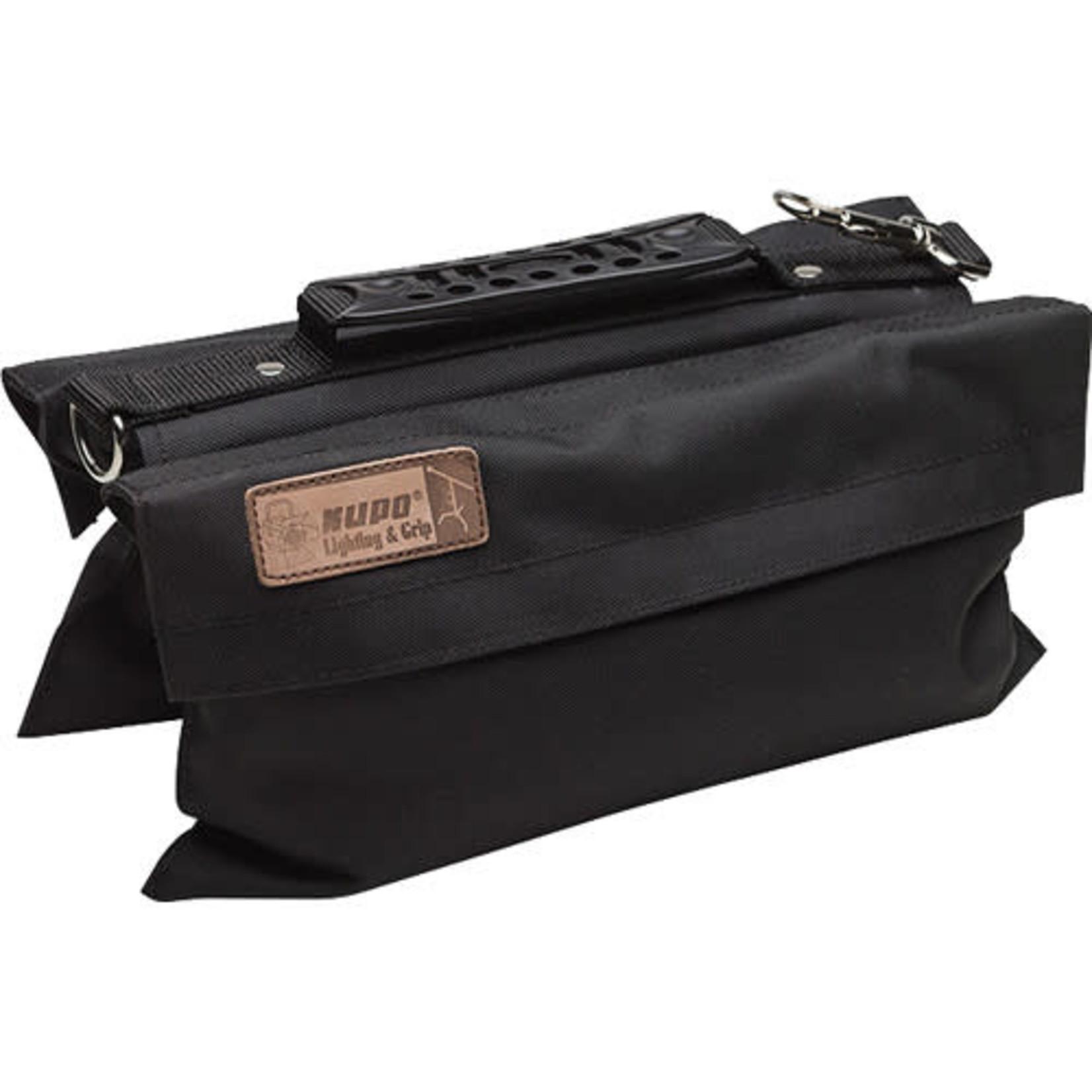 Kupo Kupo Touch-Fastener Empty Refillable Sandbag (13.2 lb, Black)