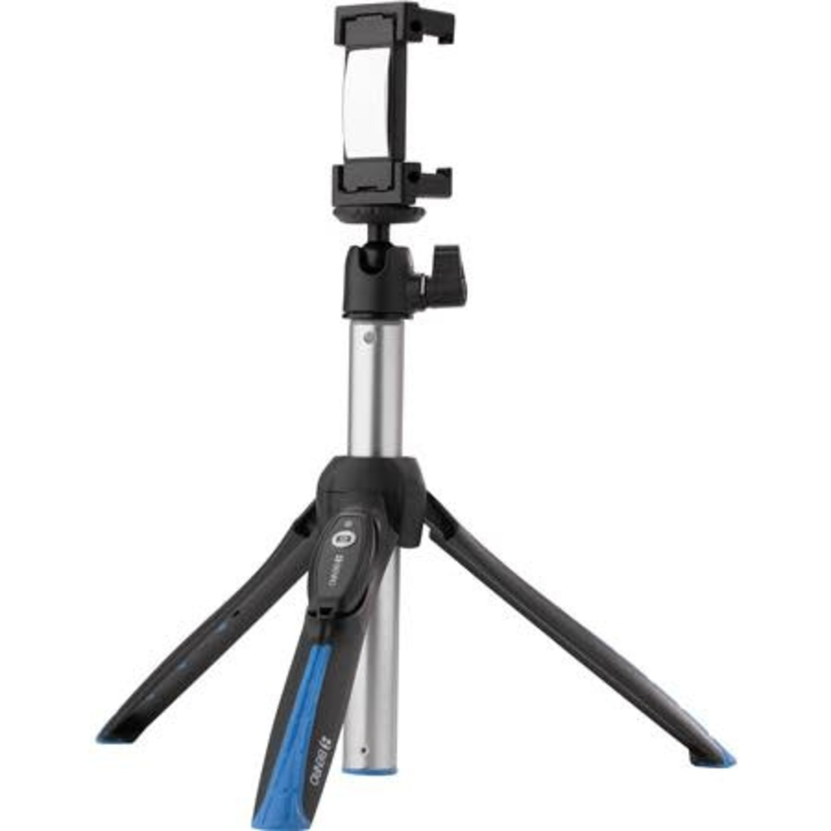 Benro Benro BK15 Mini Tripod and Selfie Stick with Bluetooth Remote for Smartphones, Black