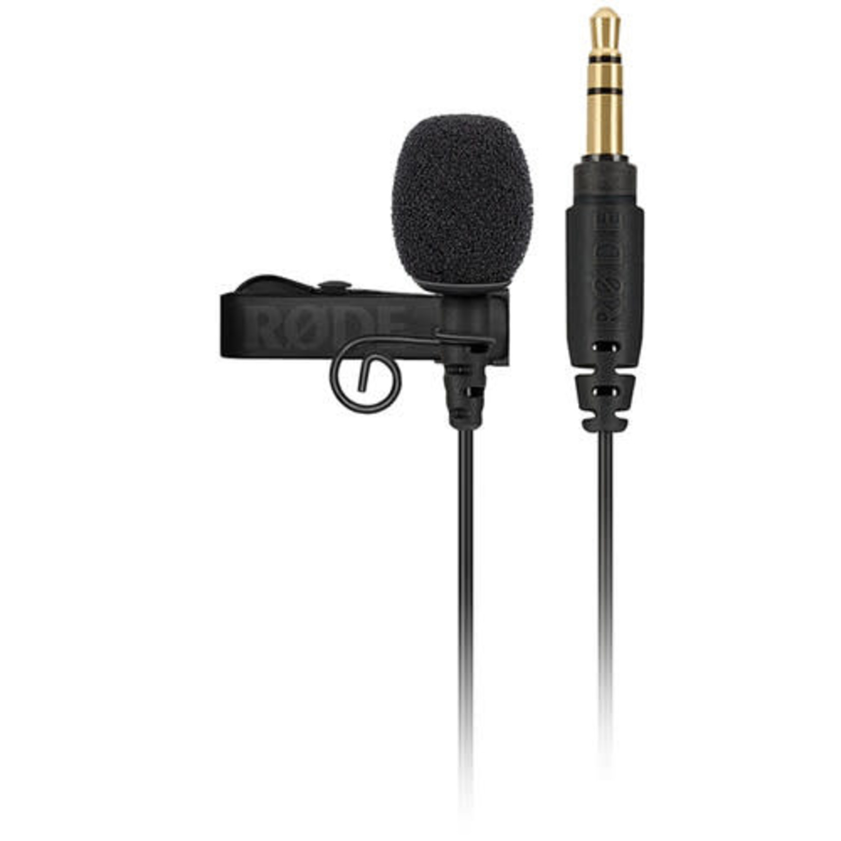 Rode Rode Lavalier GO Omnidirectional Lavalier Microphone for Wireless GO Systems (Black)