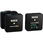 Rode Rode Wireless GO II 2-Person Compact Digital Wireless Microphone System/Recorder (2.4 GHz, Black)