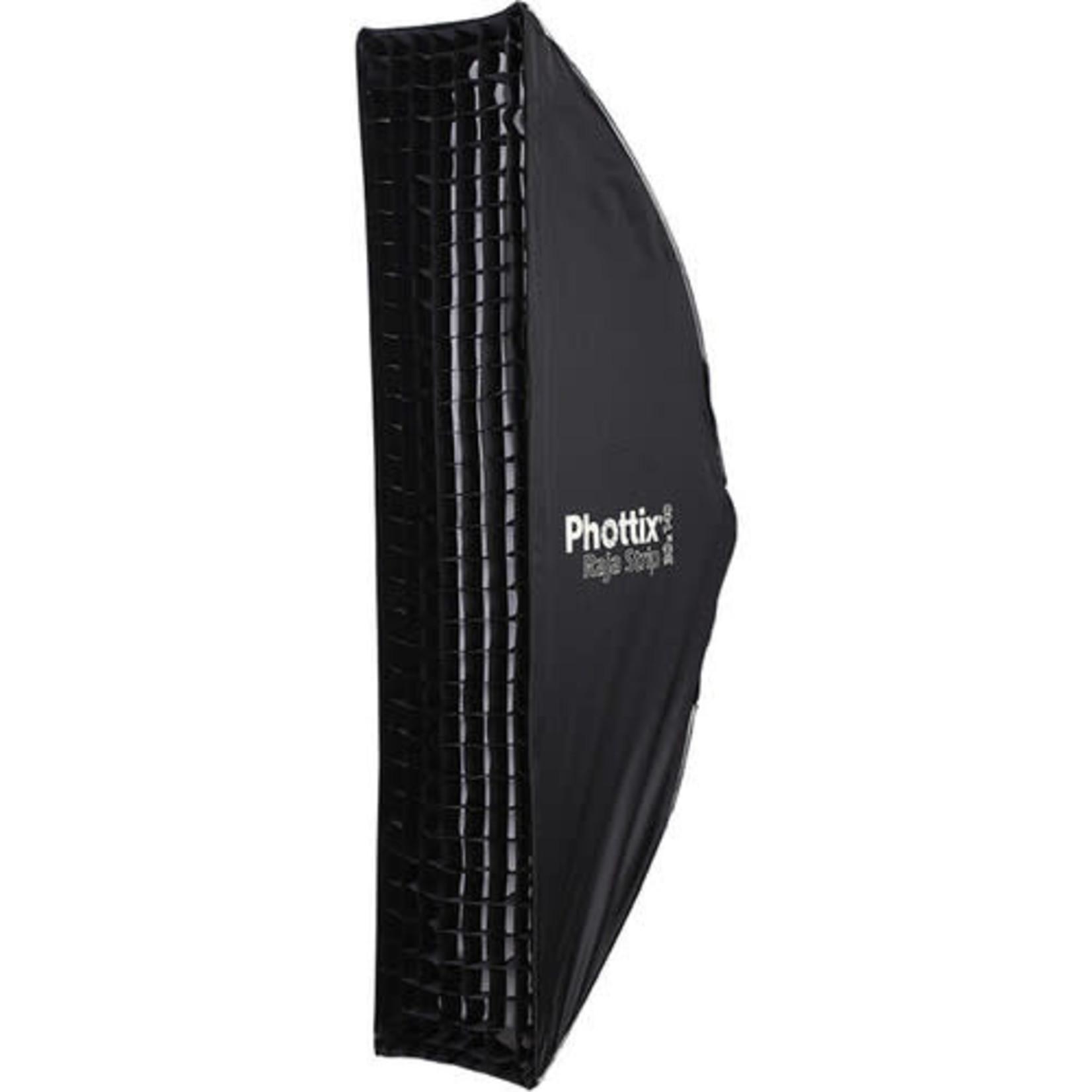 Phottix Raja Quick-Folding Strip Softbox 12x55in (30x140cm)