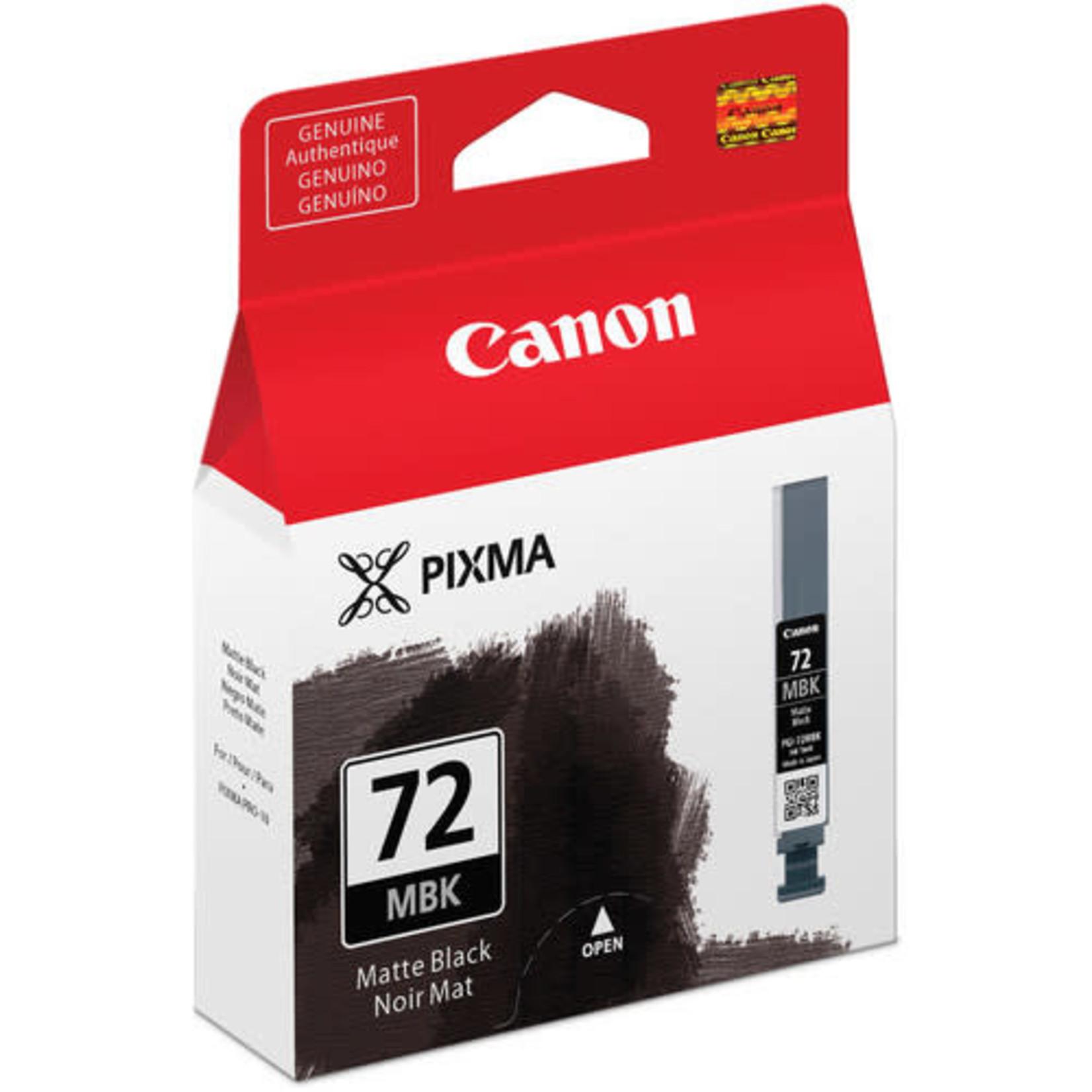Canon Canon LUCIA PGI-72 Matte Black Ink Tank
