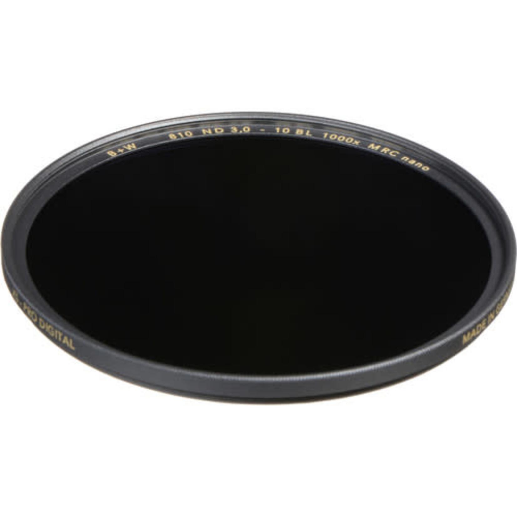 B+W B+W 77mm XS-Pro MRC-Nano 810 ND 3.0 Filter (10-Stop)