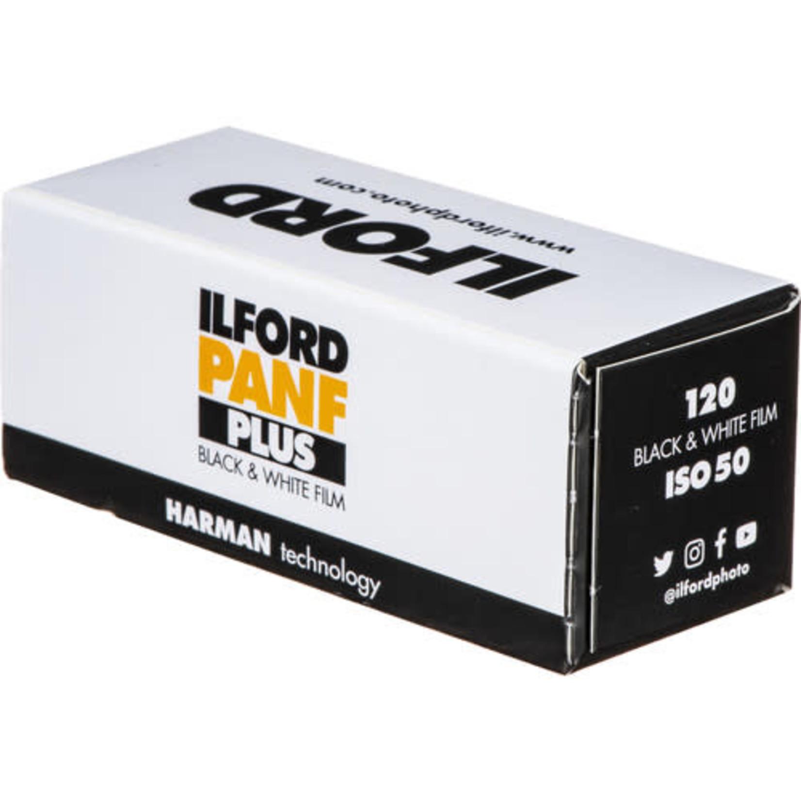 Ilford Ilford Pan F Plus Black and White Negative Film (120 Roll Film)