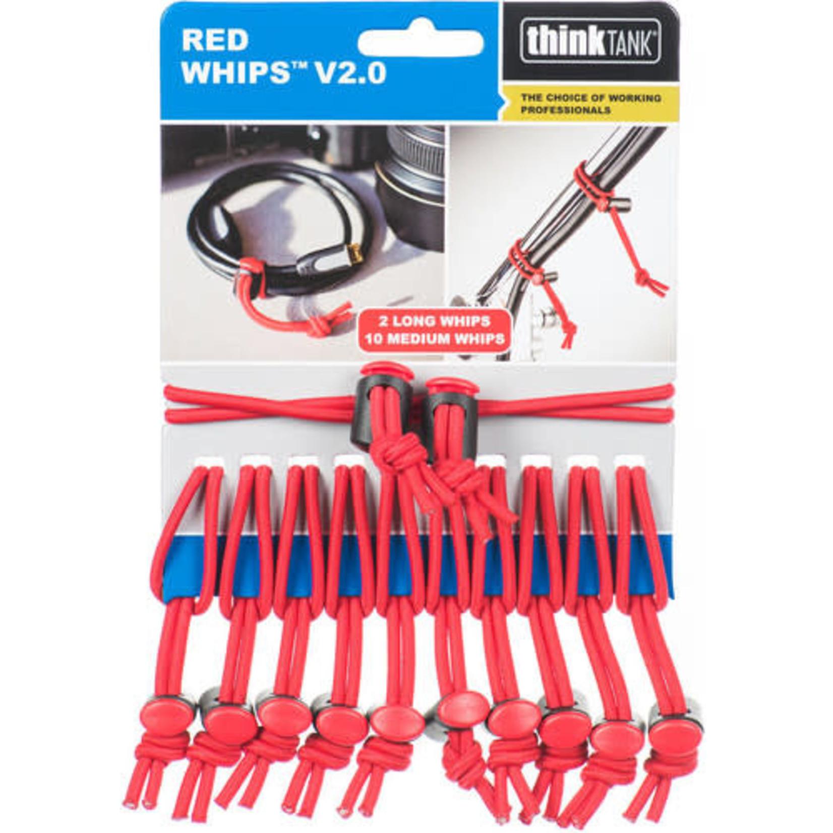 ThinkTank Red Whips™ V2.0 - Bulk Pack of 24