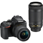 Nikon Nikon D5600 DSLR Camera with 18-55mm and 70-300mm Lenses