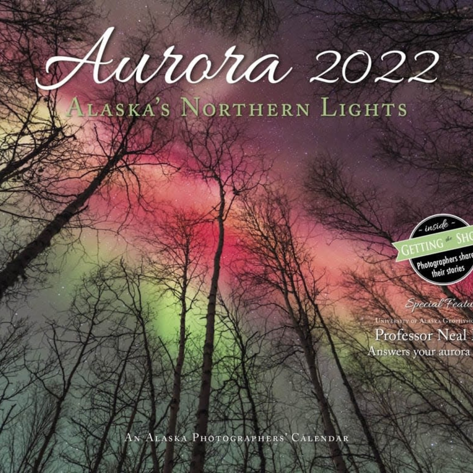 "Greatland Graphics 2022 Aurora wall calendar (10""x13"")"