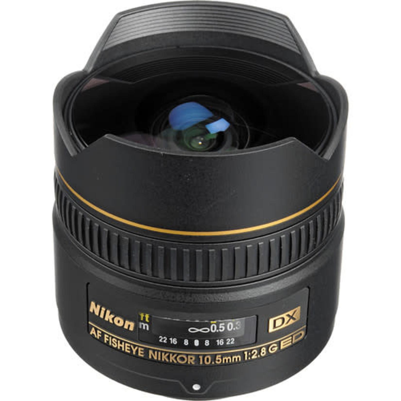 Nikon Nikon AF DX Fisheye-NIKKOR 10.5mm f/2.8G ED Lens