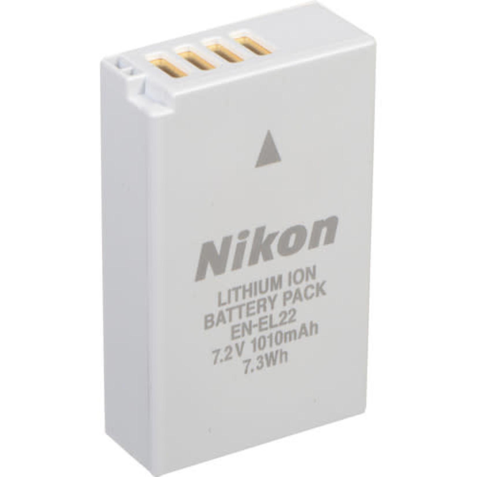 Nikon Nikon EN-EL22 Rechargeable Lithium-Ion Battery Pack (7.2V, 1010mAh)