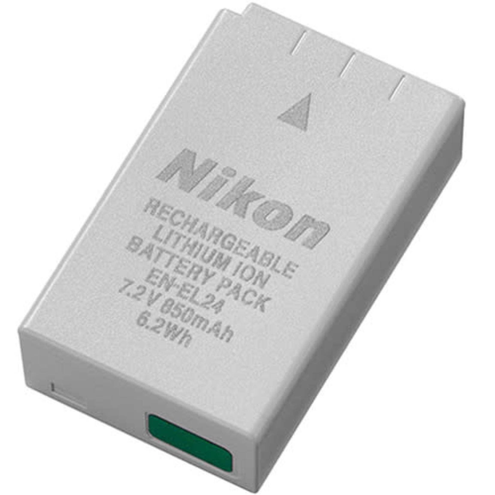 Nikon Nikon EN-EL24 Rechargeable Lithium-Ion Battery Pack (7.2V, 850mAh)