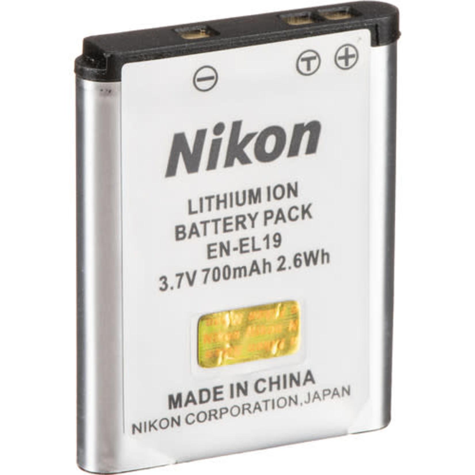 Nikon Nikon EN-EL19 Lithium-Ion Battery (700mAh)