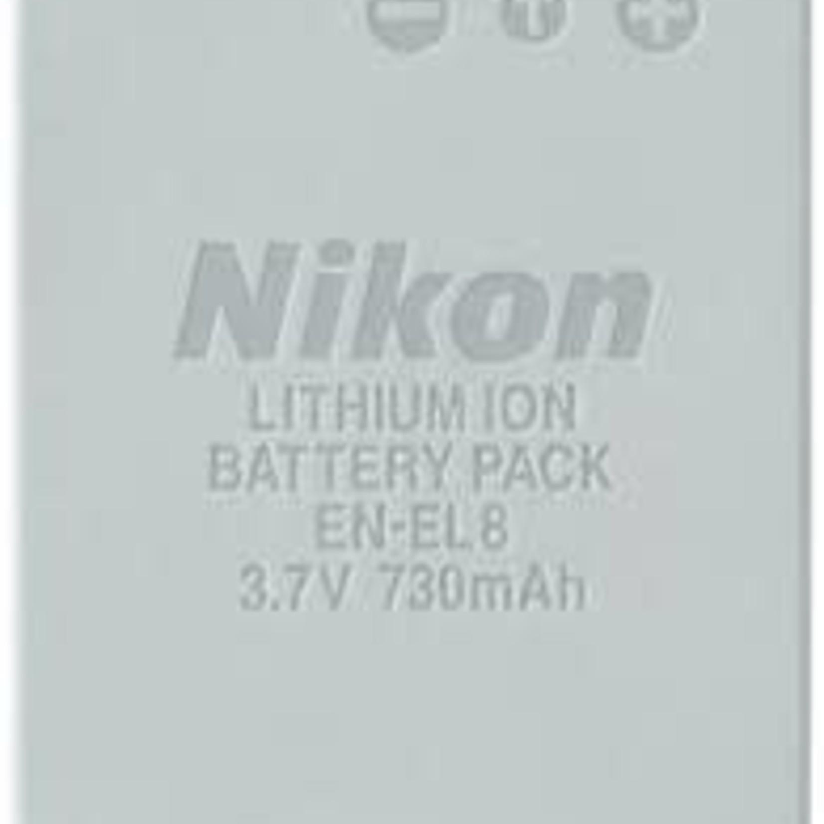 Nikon Nikon EN-EL8 Lithium-Ion Battery (3.7v 730mAh) for Coolpix P1, P2, S1, S2 & S3 Digital Camera