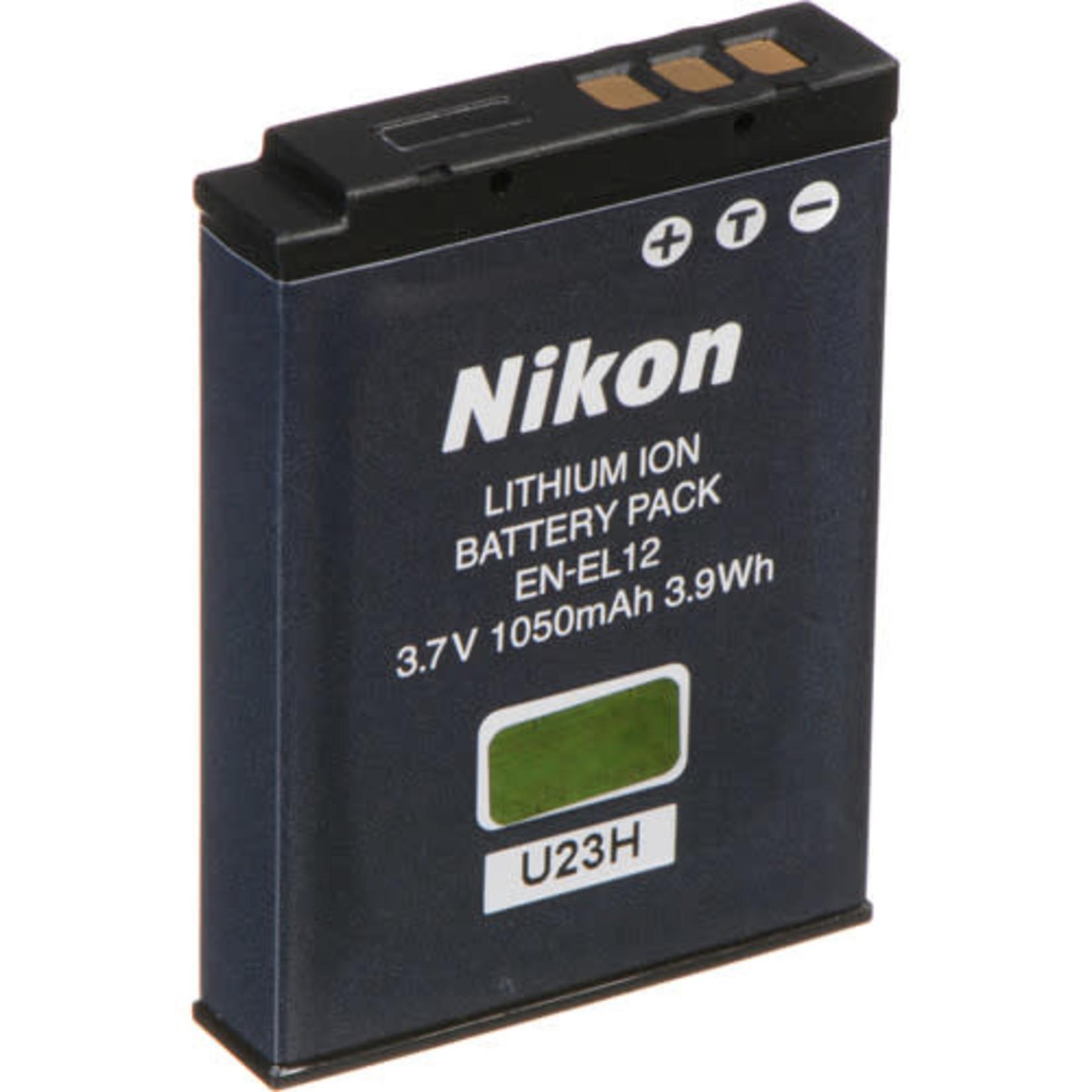 Nikon Nikon EN-EL12 Rechargeable Lithium-Ion Battery (3.7V, 1050mAh)