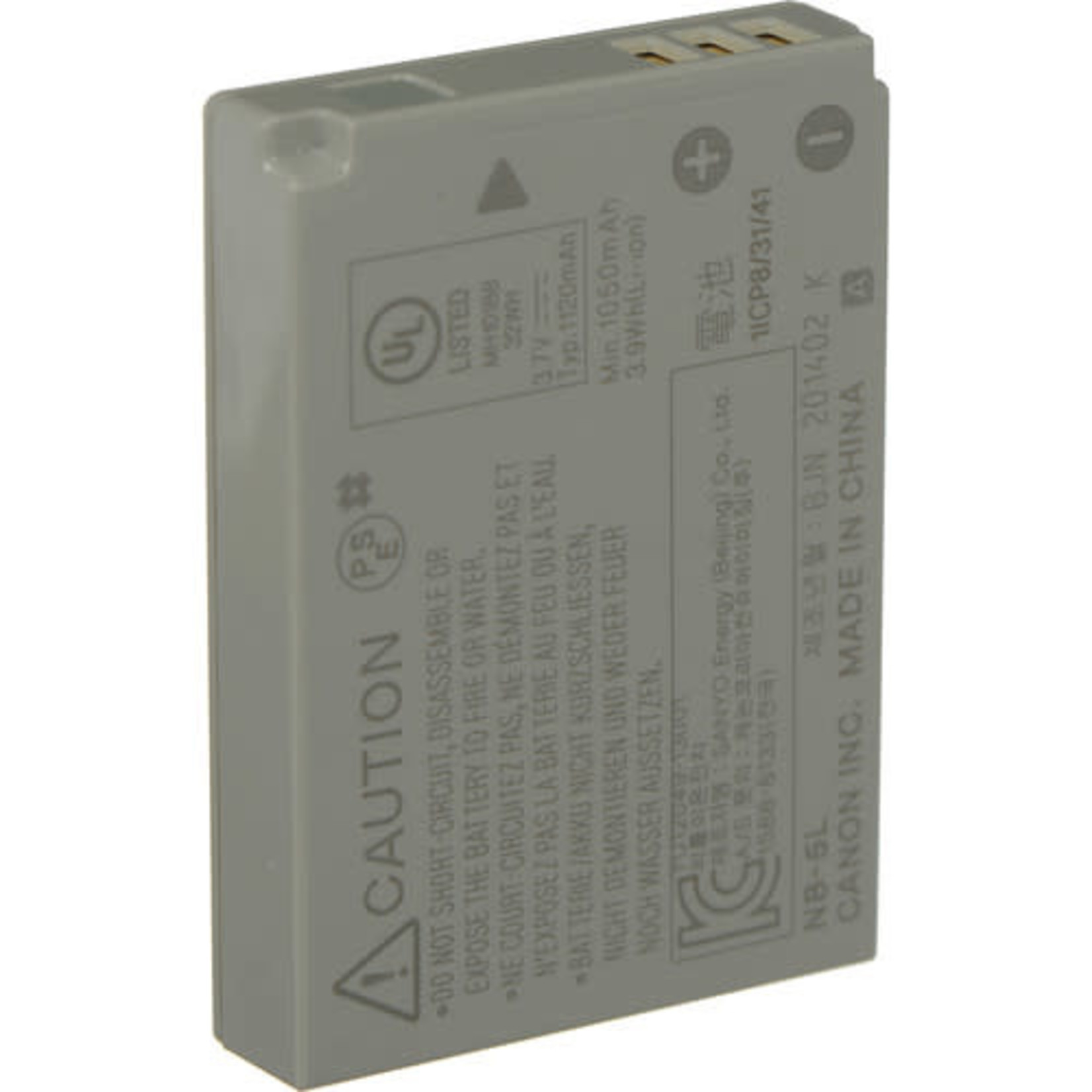 Canon Canon NB-5L Lithium-Ion Battery Pack (3.7v, 1120mAh)