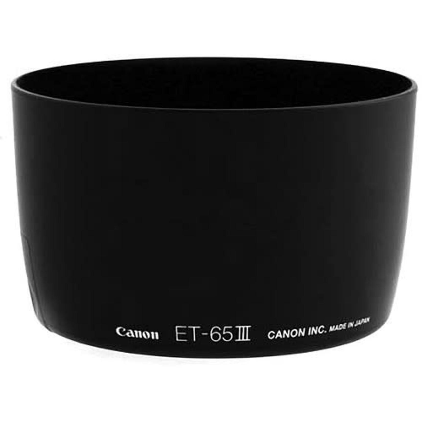 Canon Canon ET-65III Lens Hood for EF 85mm f/1.8, 100mm f/2.0, 135mm f/2.8 SF & 100-300mm f/4.5-5.6 Lenses